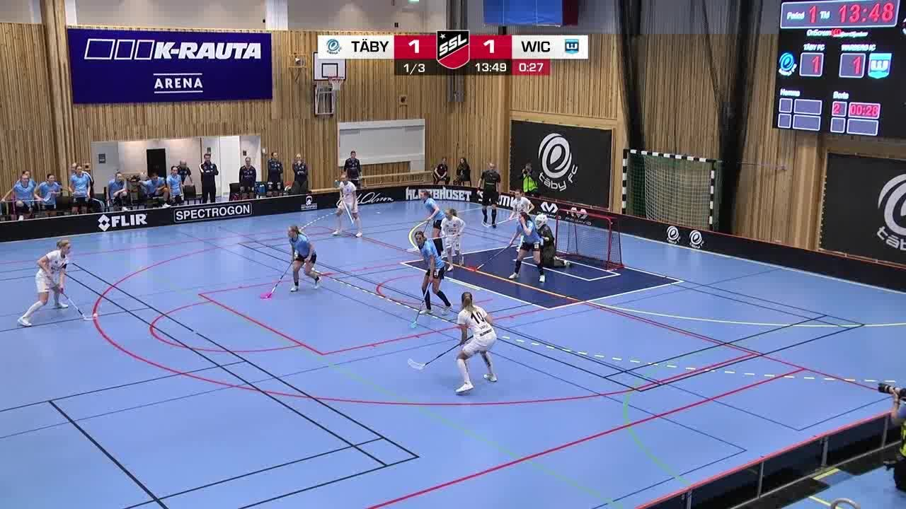 Highlights: Täby FC - Warberg IC