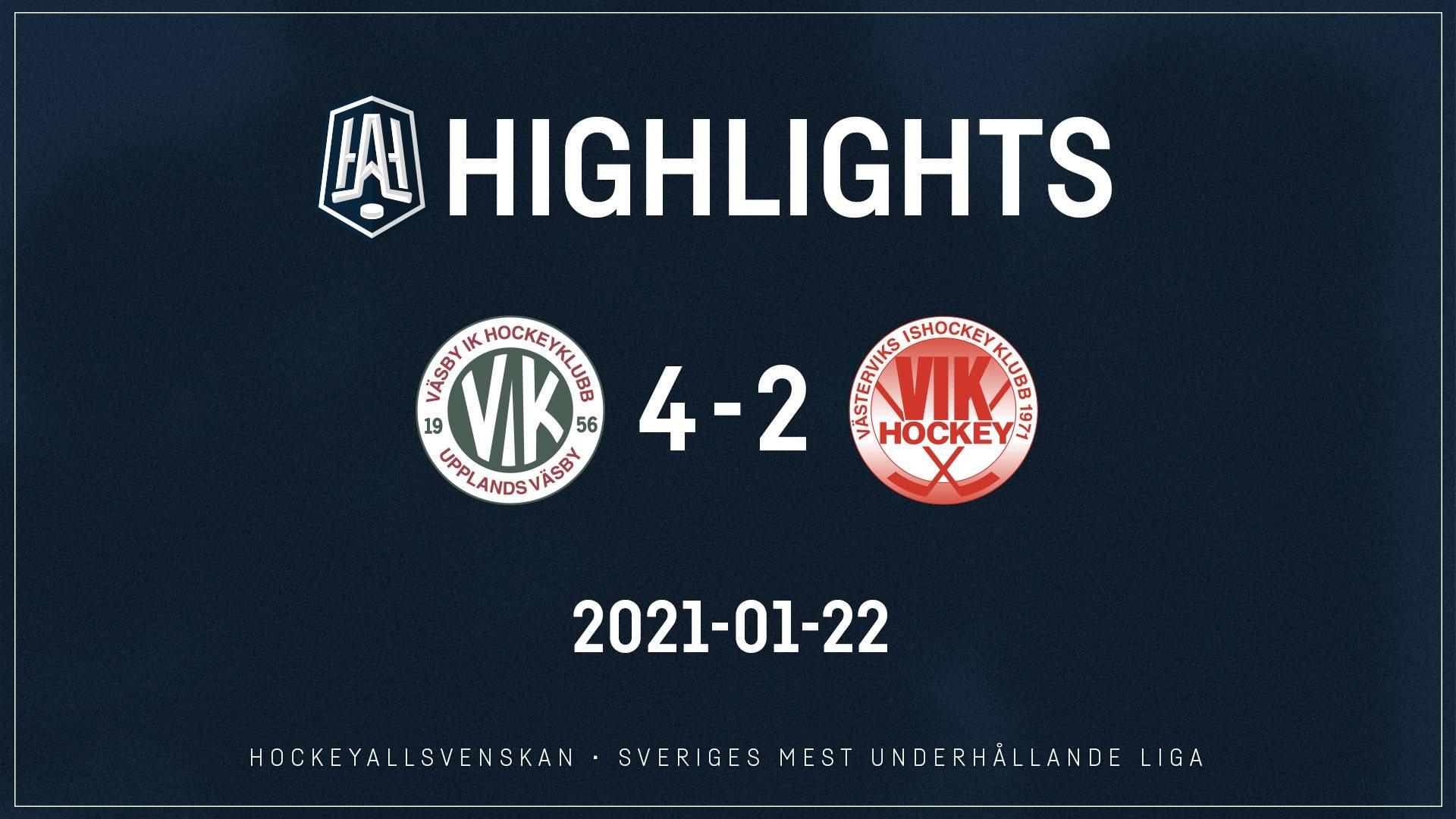 2021-01-22 Väsby - Västervik 4-2