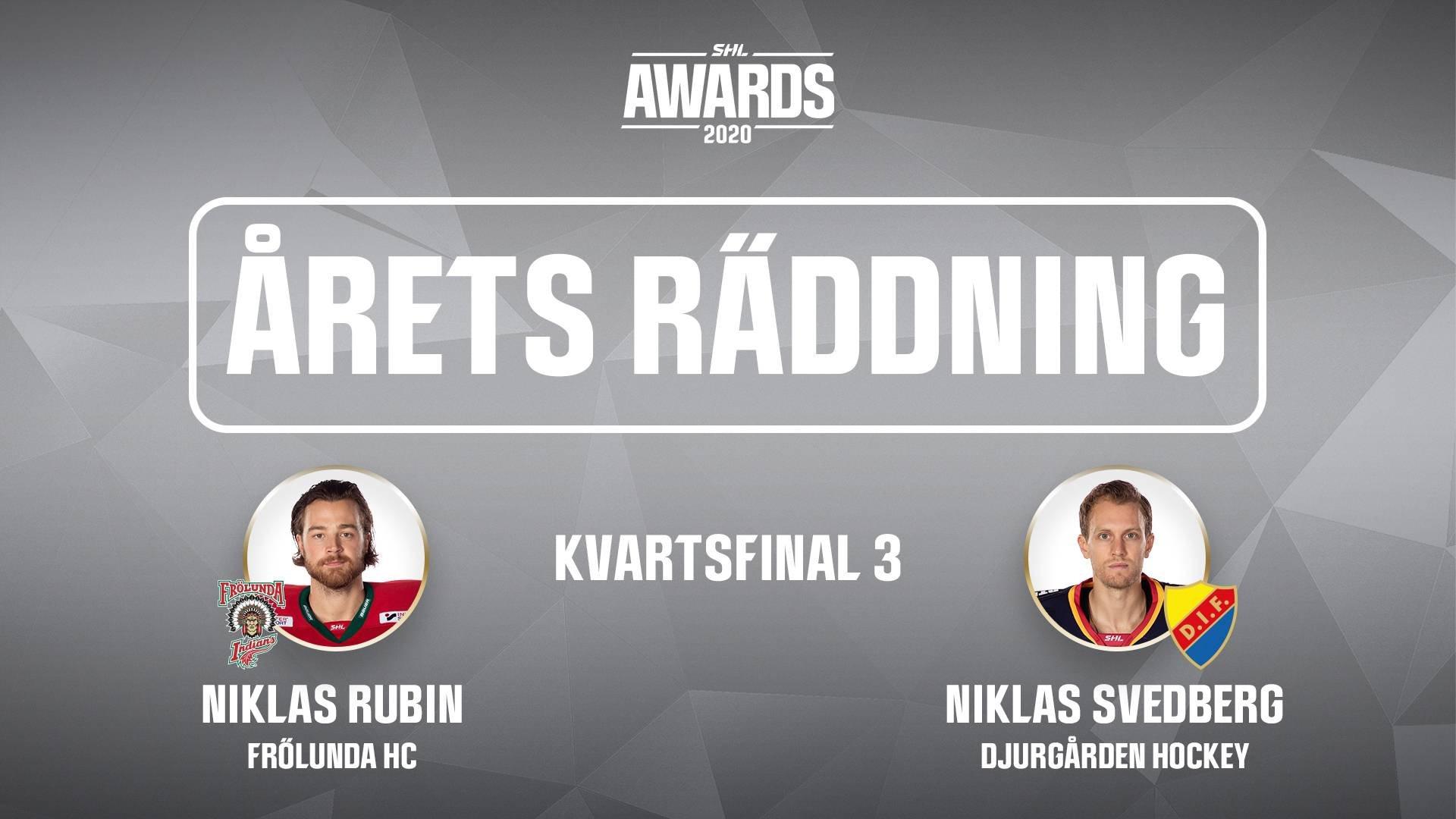 Årets räddning 2019/2020 - Kvartsfinal 3