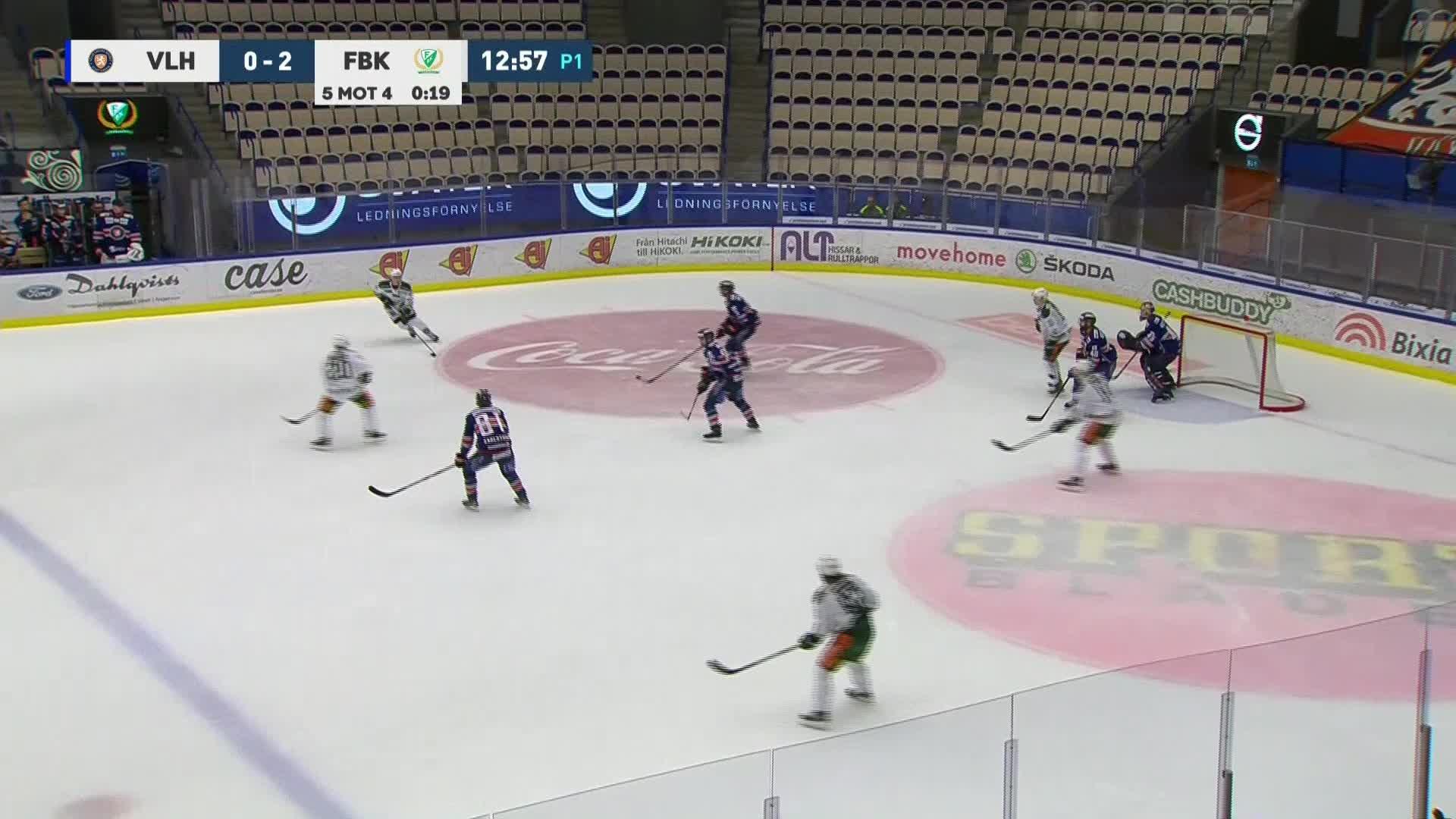 Växjö Lakers - Färjestad BK 0-3