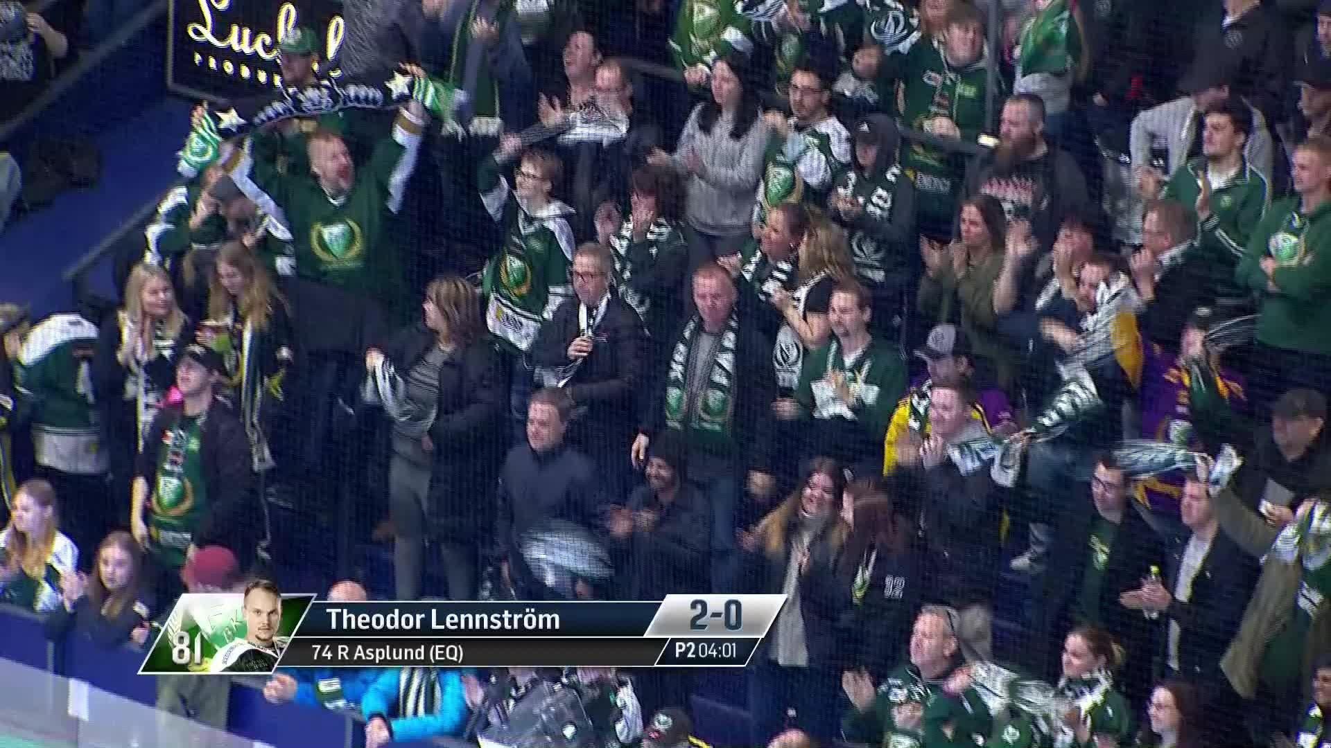 Färjestad BK - Luleå Hockey 2-0