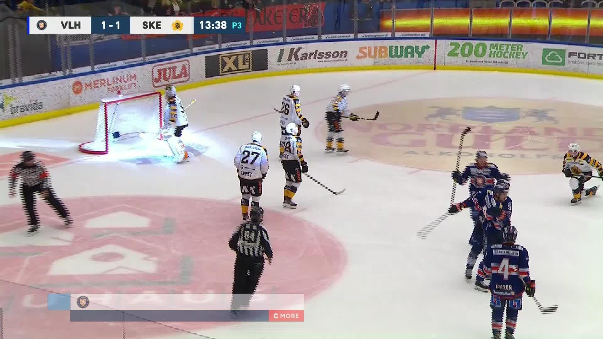 Växjö Lakers - Skellefteå AIK 1-1