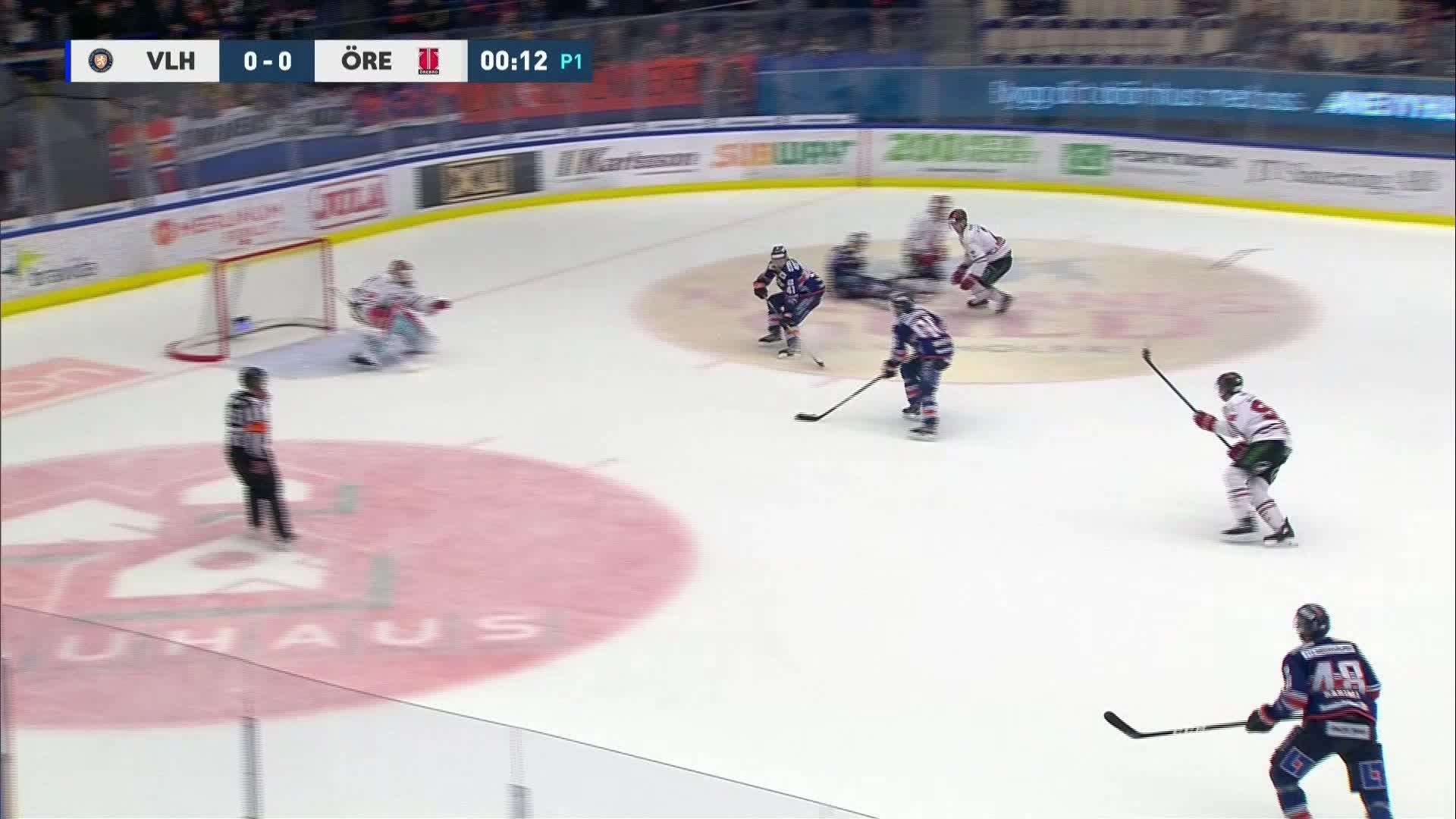 Växjö Lakers - Örebro Hockey 1-0