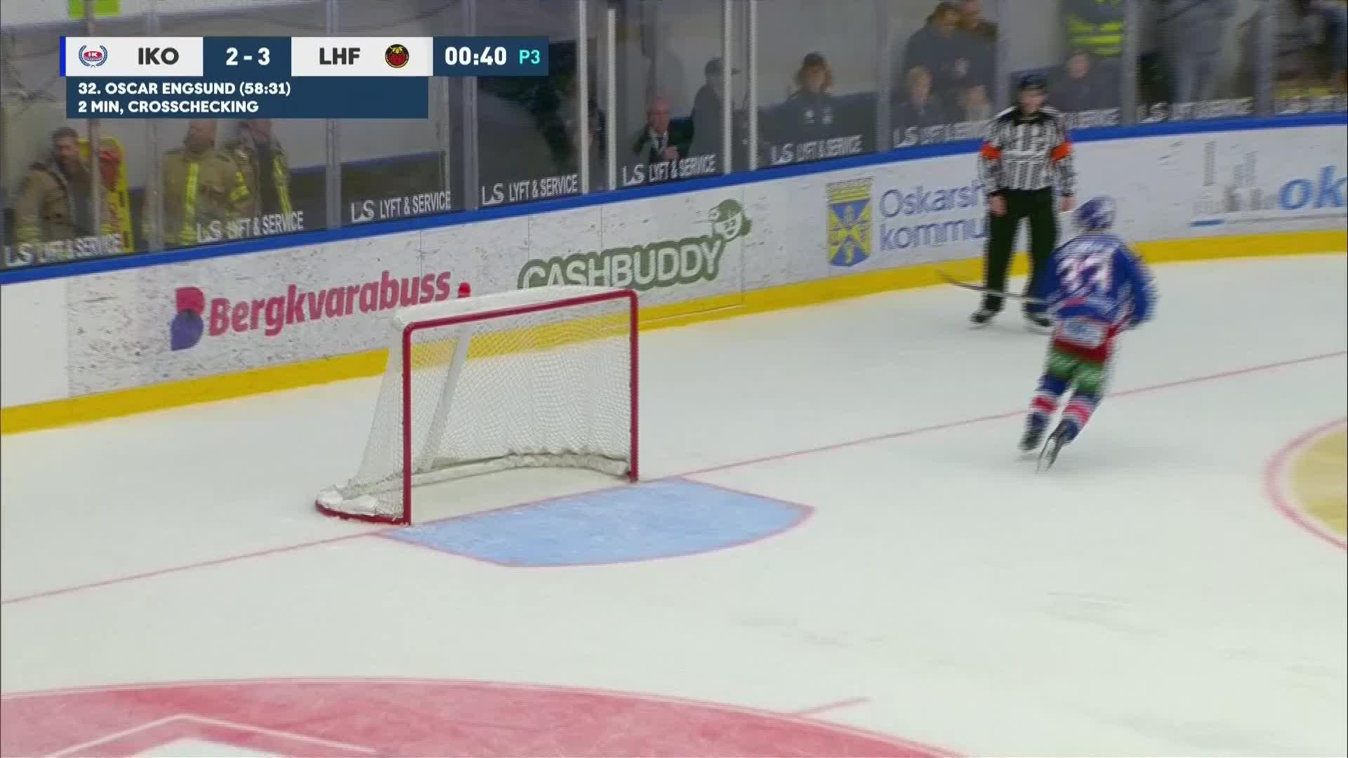 IK Oskarshamn - Luleå Hockey 2-4