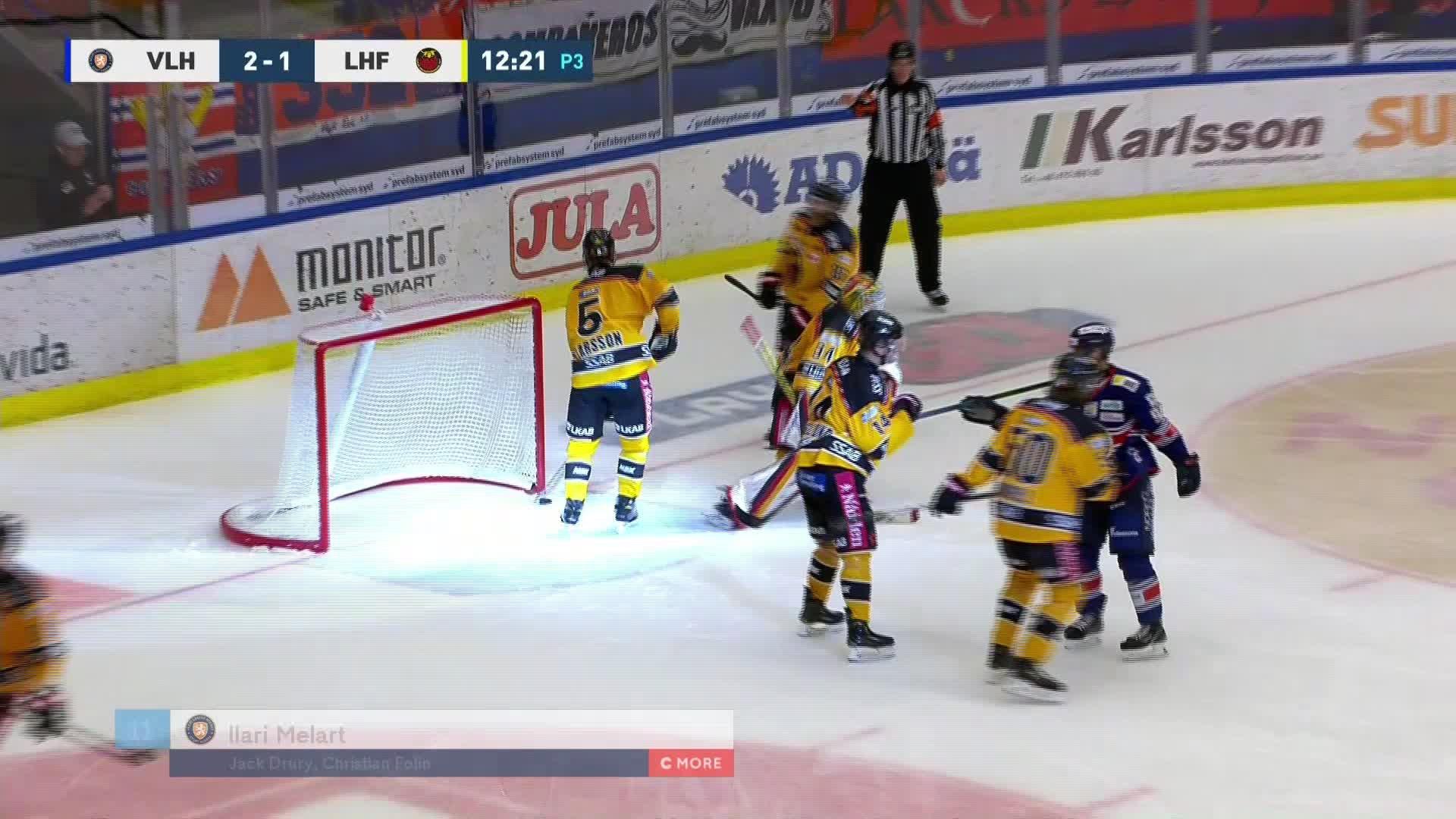 Växjö Lakers - Luleå Hockey 3-1