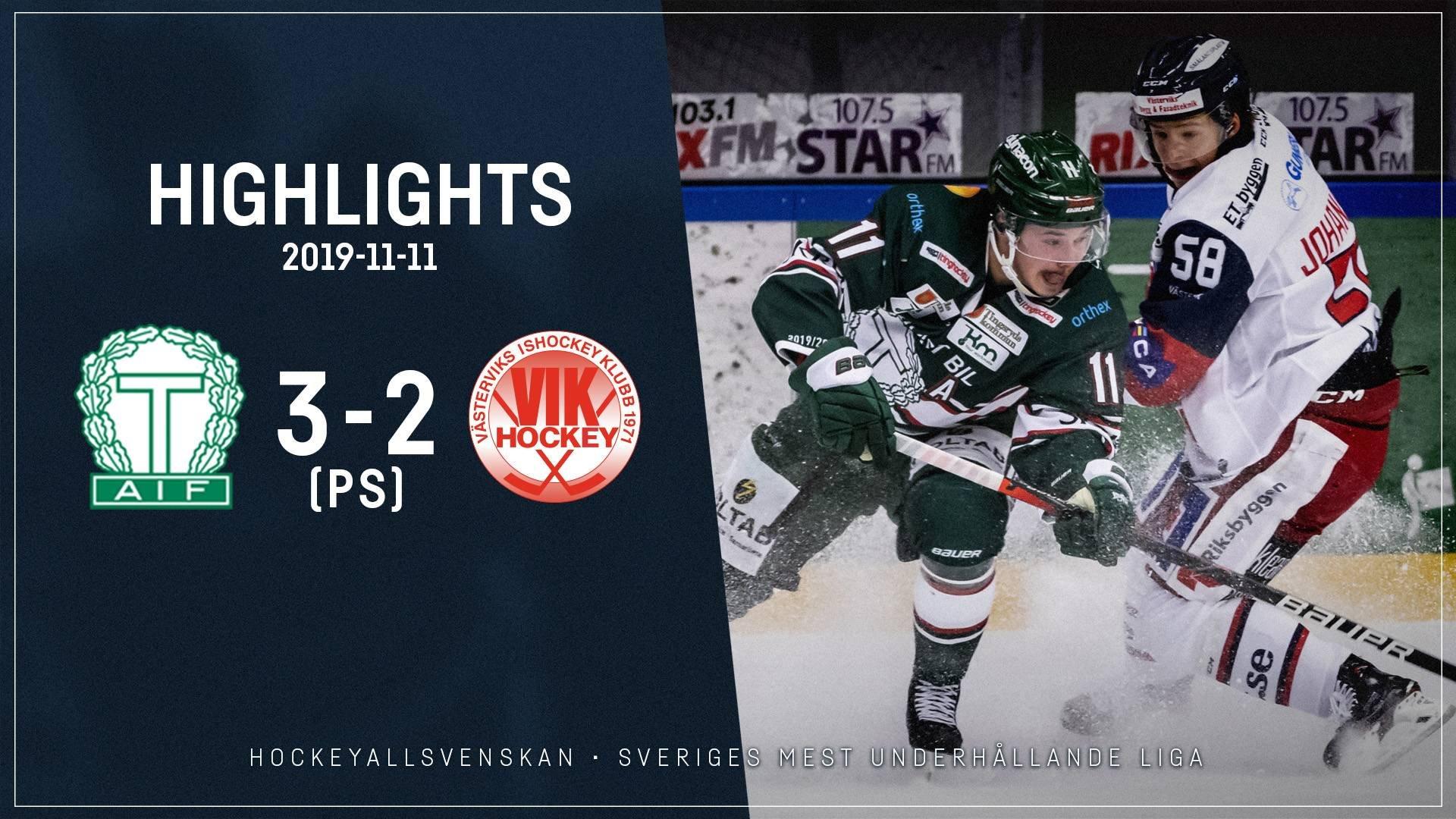 2019-11-11 Tingsryd - Västervik 3-2 (PS)