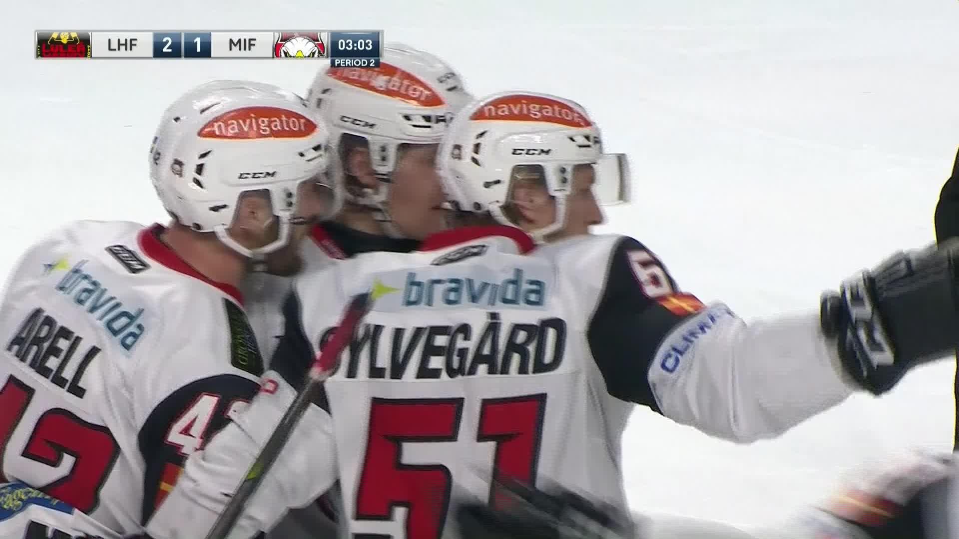 Luleå Hockey - Malmö Redhawks 2-1