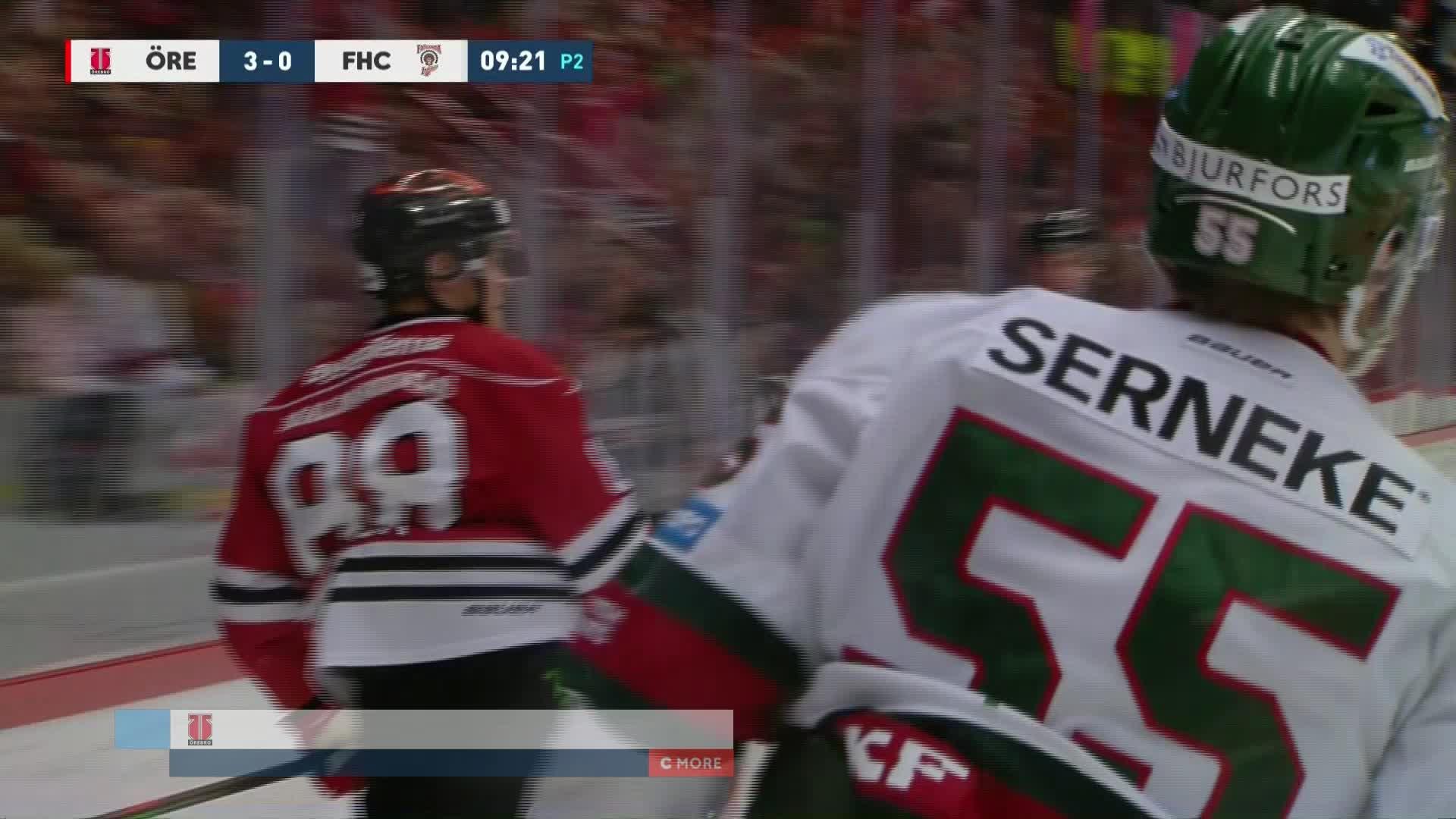 Örebro Hockey - Frölunda HC 3-0