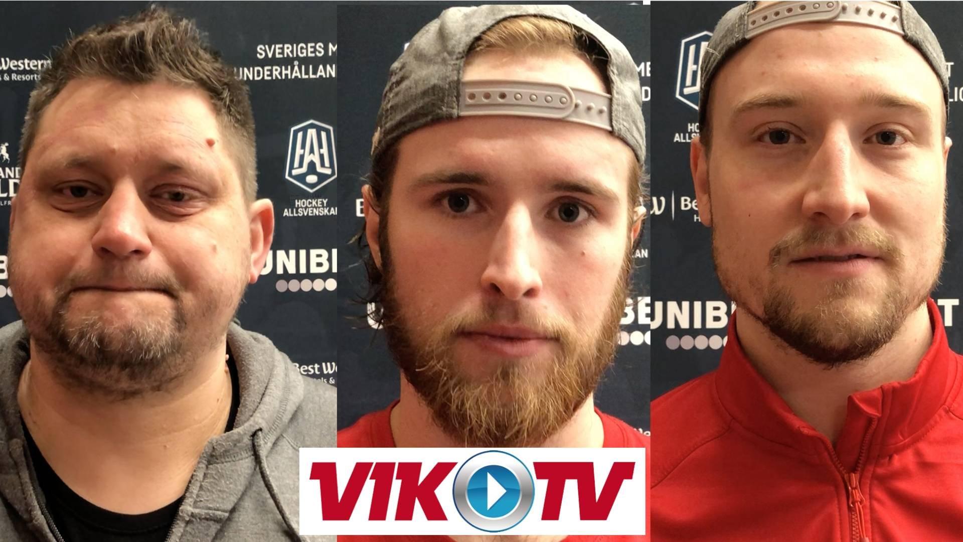 Intervjuer efter vinsten mot Södertälje SK