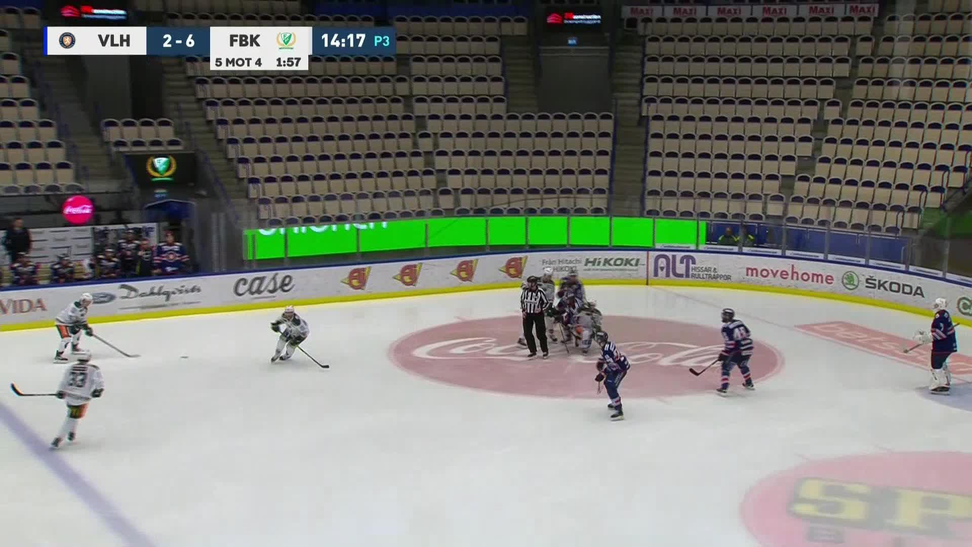 Växjö Lakers - Färjestad BK 2-7