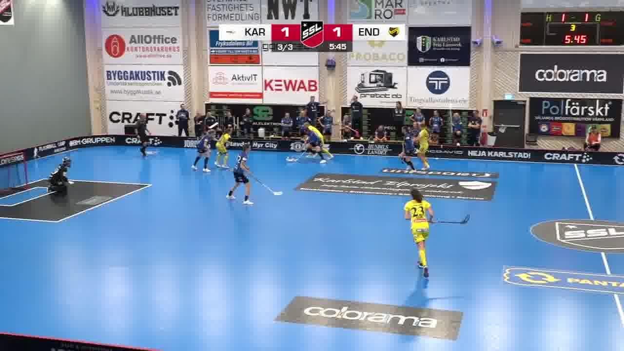 Highlights: Karlstad Innebandy-Endre IF