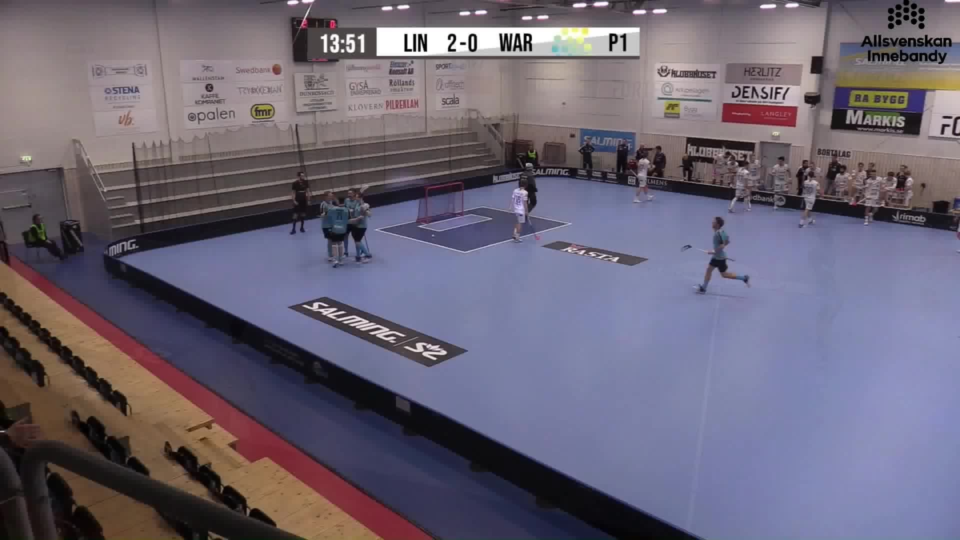 Highlights Lindås Rasta IBK - Warberg IC