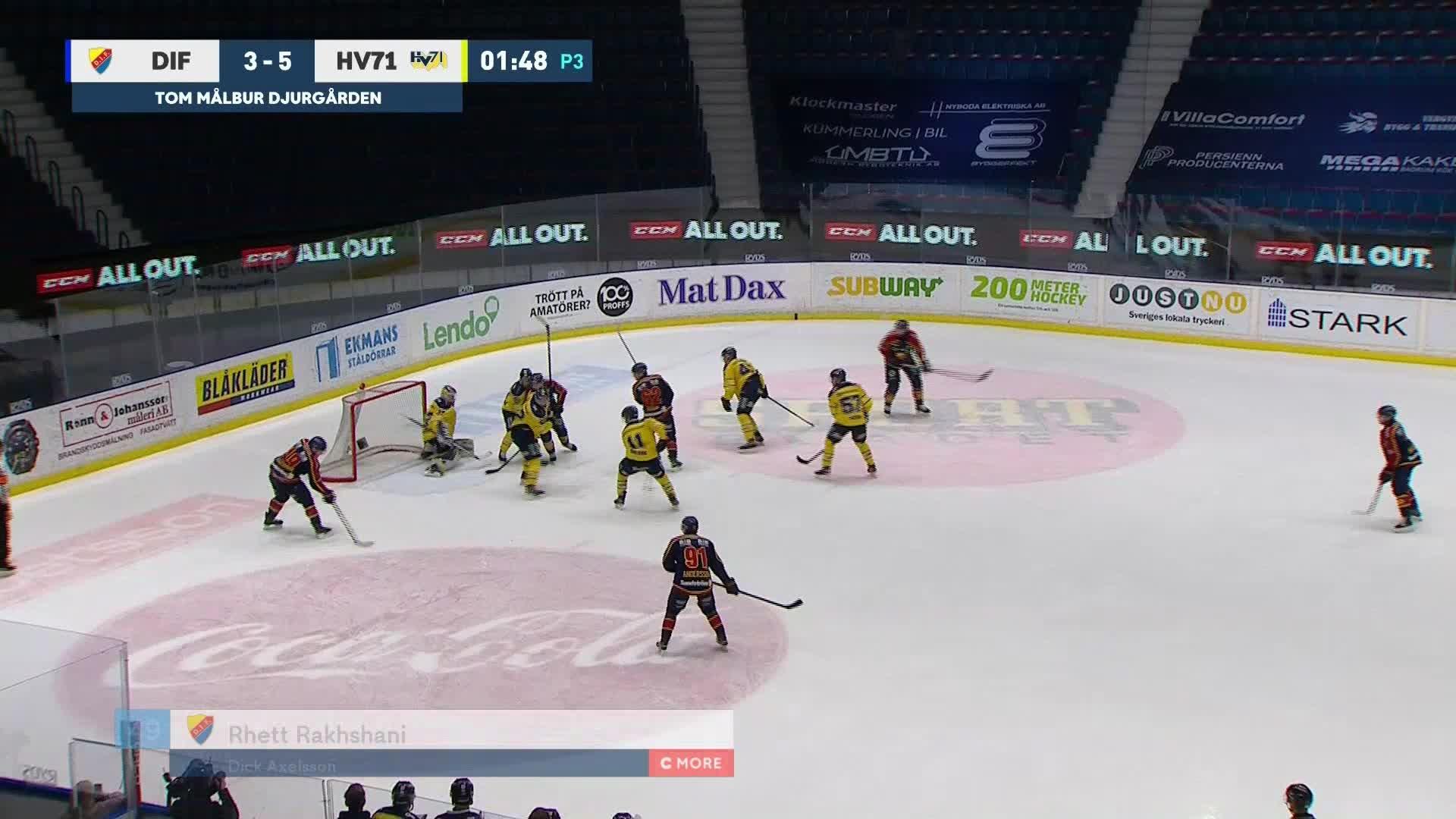 Djurgården Hockey - HV71 4-5
