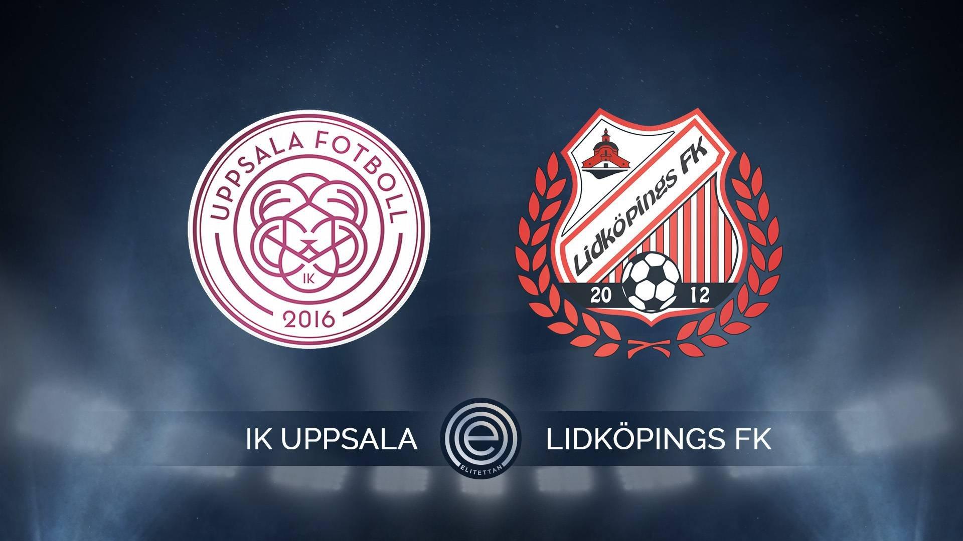 Highlights: IK Uppsala-Lidköpings FK