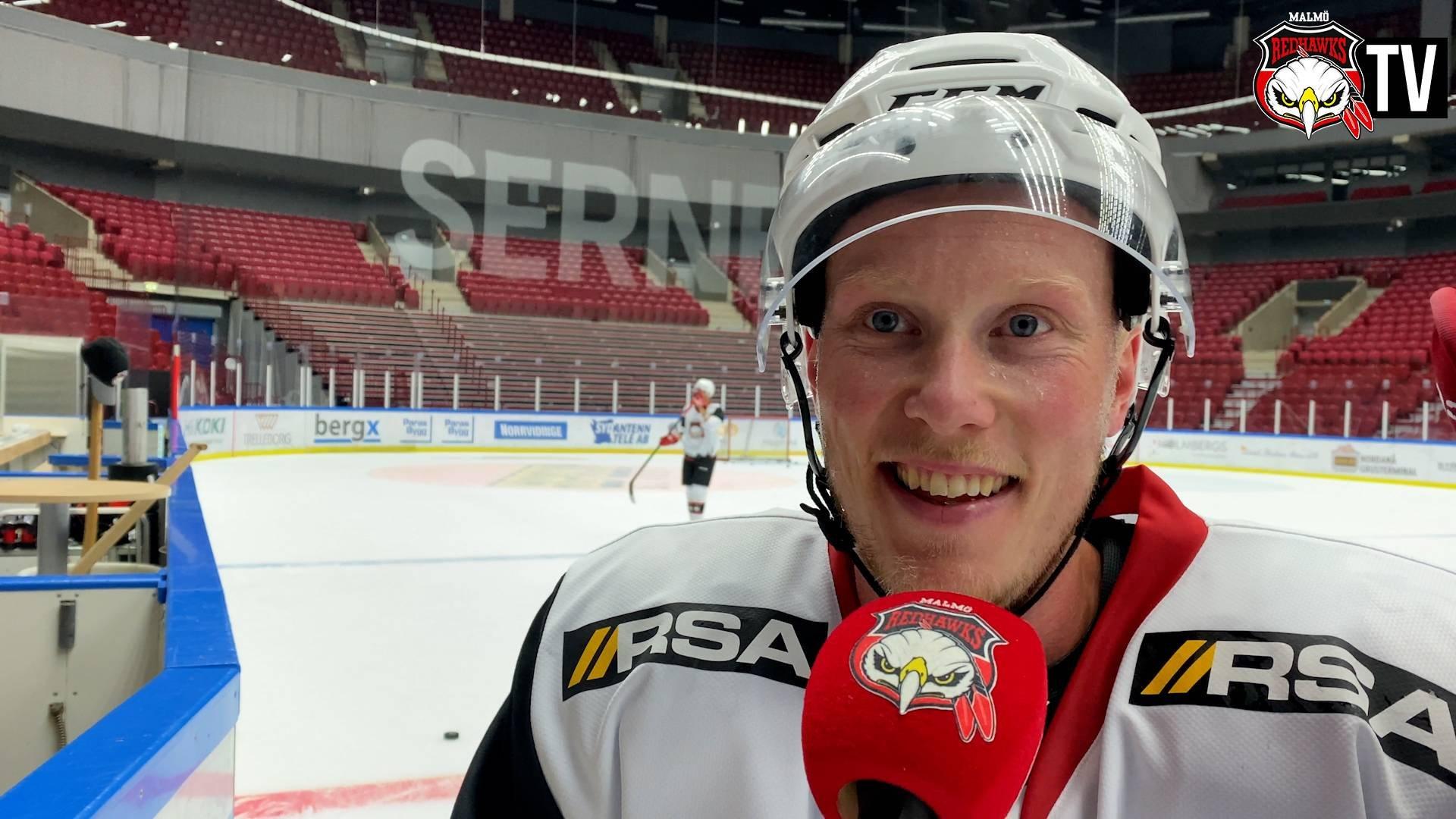 Kalle Östman inför säsongens första match