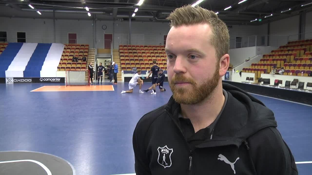 """Johan Nygårdh """"Glad att killarna gör en så bra prestation"""""""