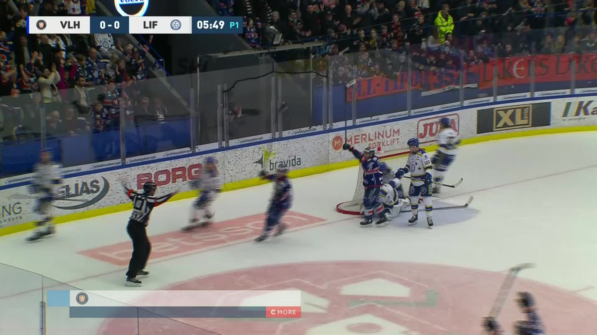 Växjö Lakers - Leksands IF 1-0