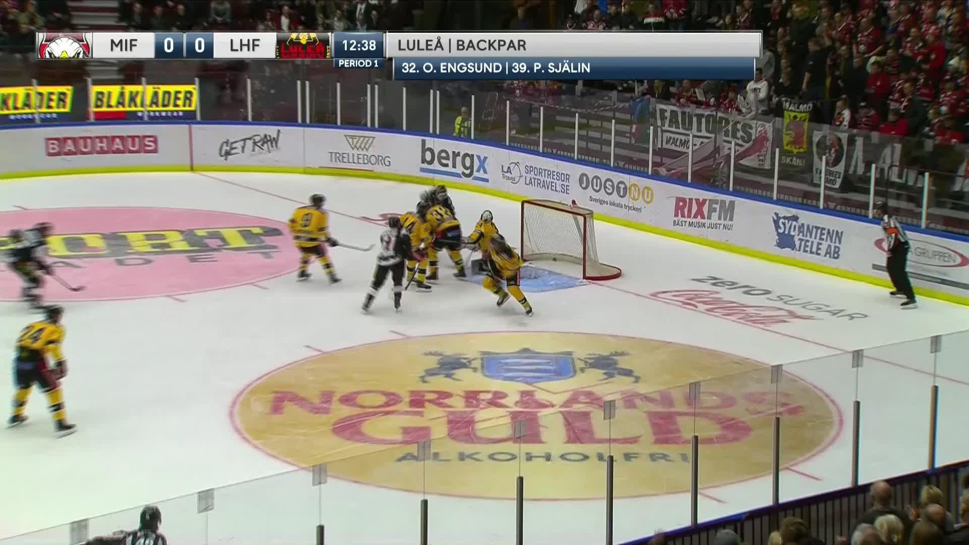 Malmö Redhawks - Luleå Hockey 1-0