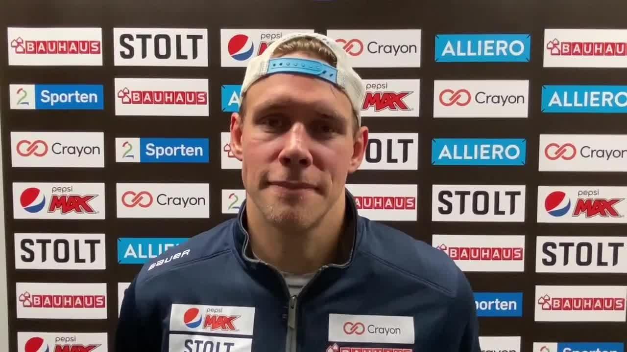 Tobias Lindström etter første match på nye Jordal
