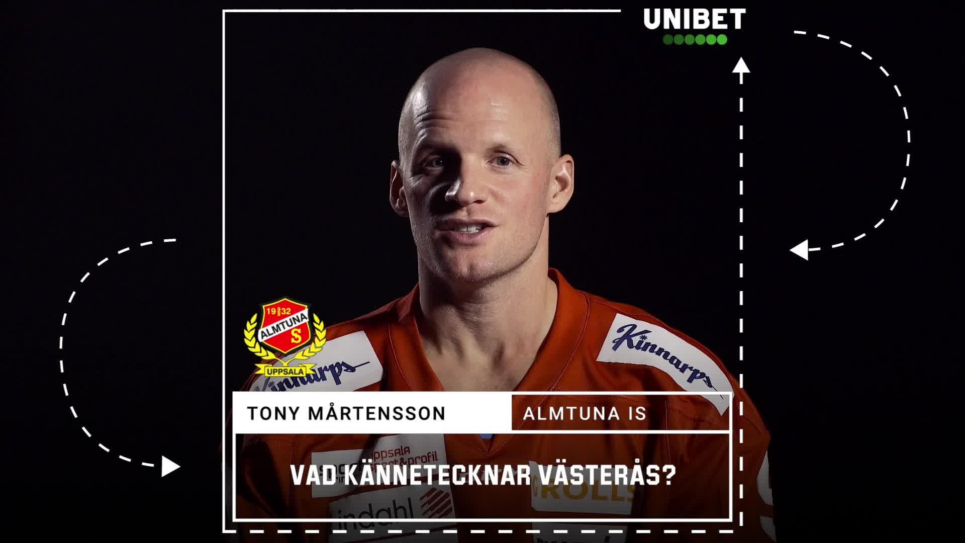 Tony Mårtensson om Västerås