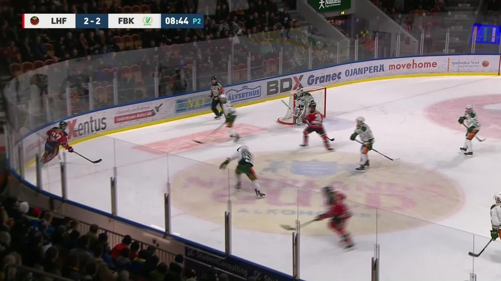 Luleå Hockey - Färjestad BK 3-2
