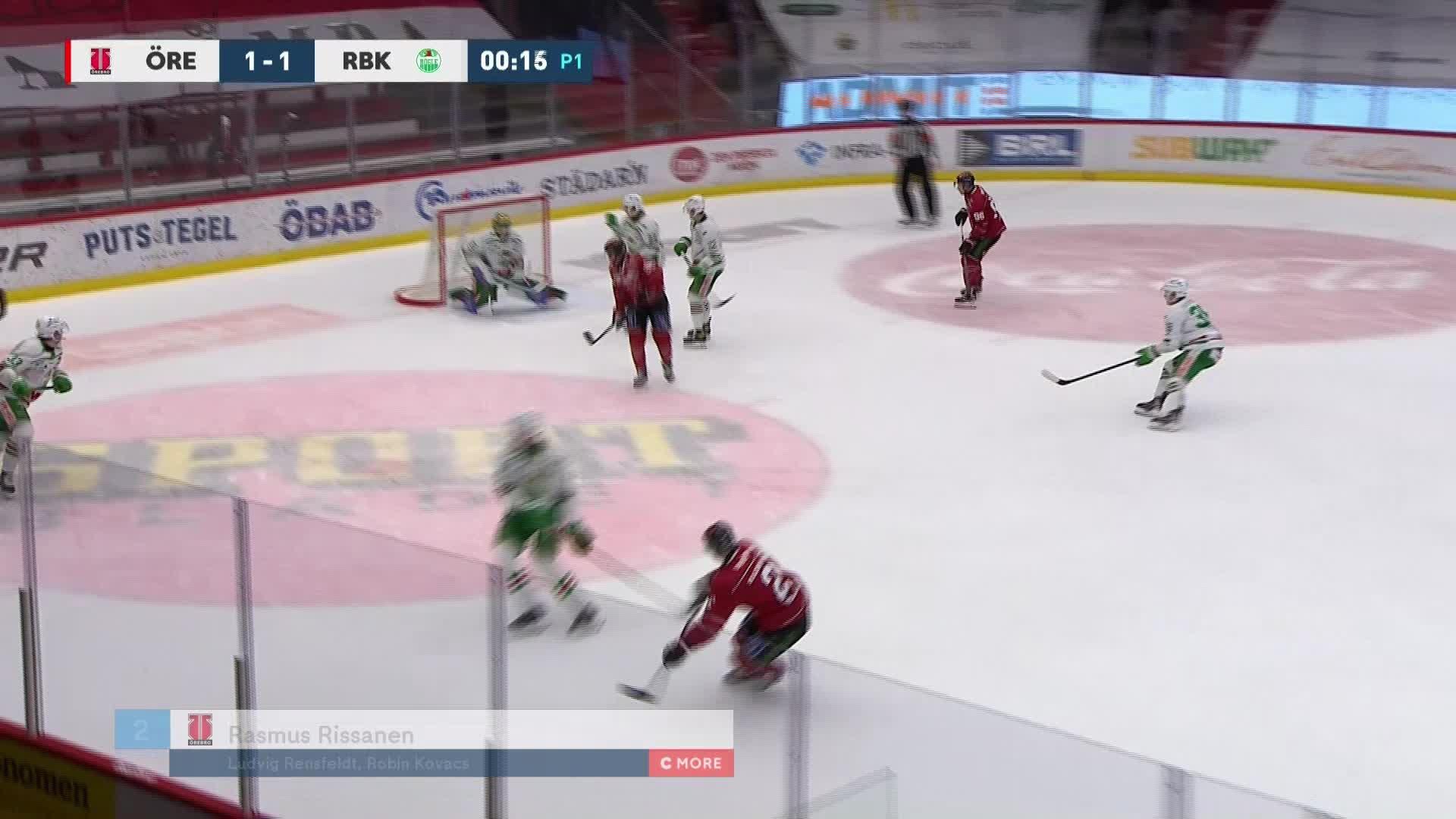 Örebro Hockey - Rögle BK 2-1