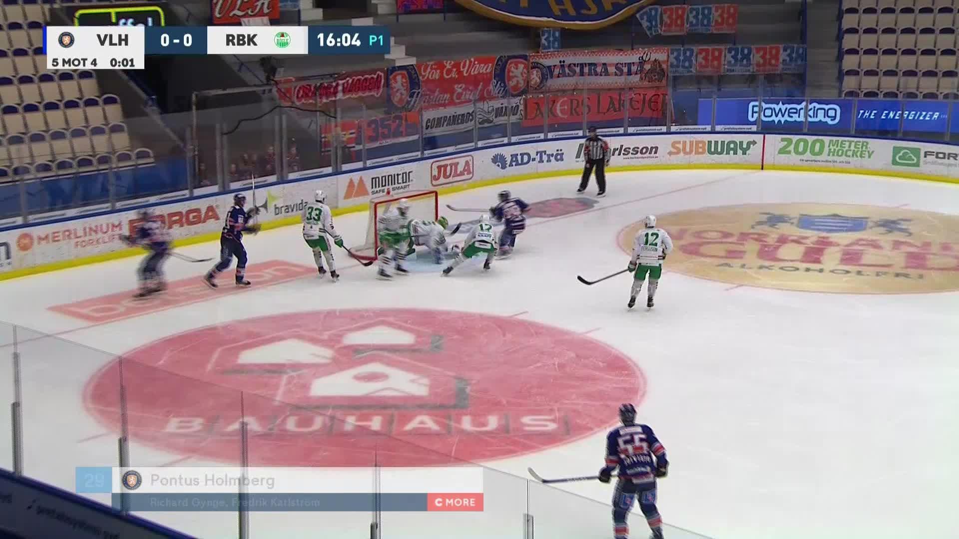 Växjö Lakers - Rögle BK 1-0