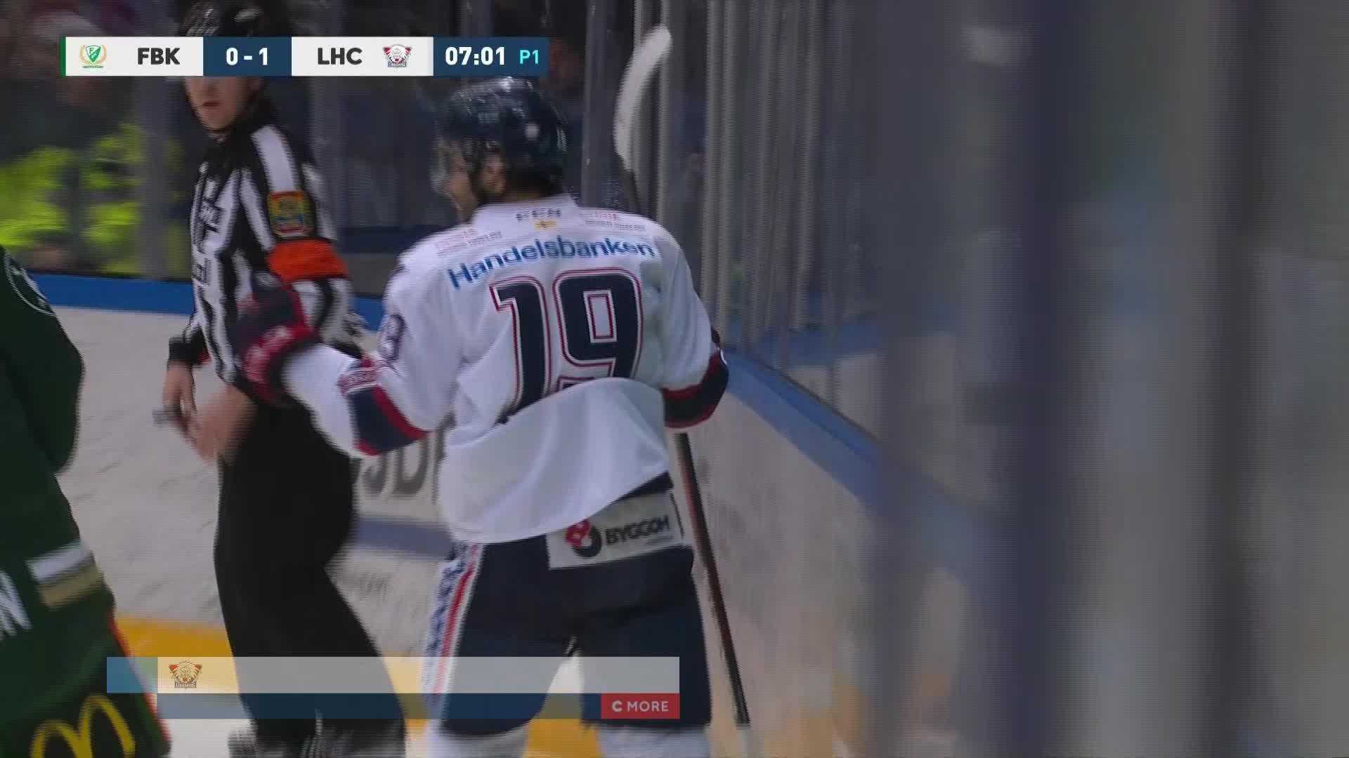 Färjestad BK - Linköping HC 0-1