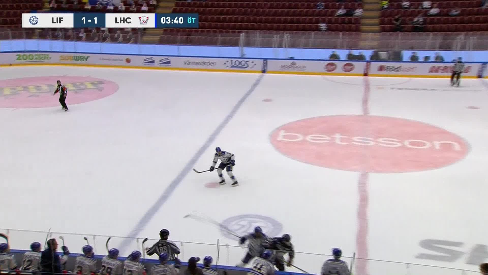 Leksands IF - Linköping HC 1-2