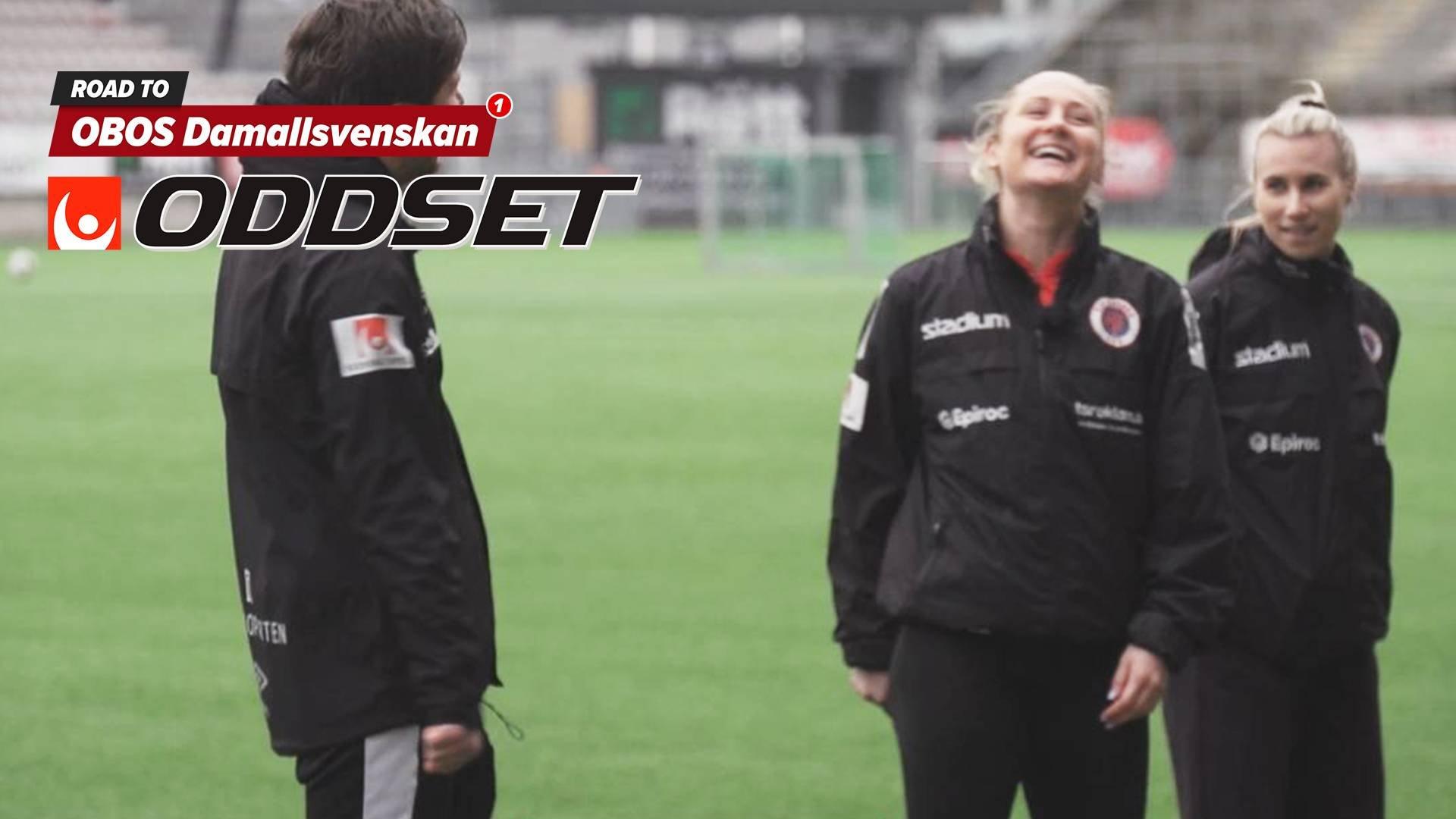 Road to OBOS Damallsvenskan - KIF Örebro DFF