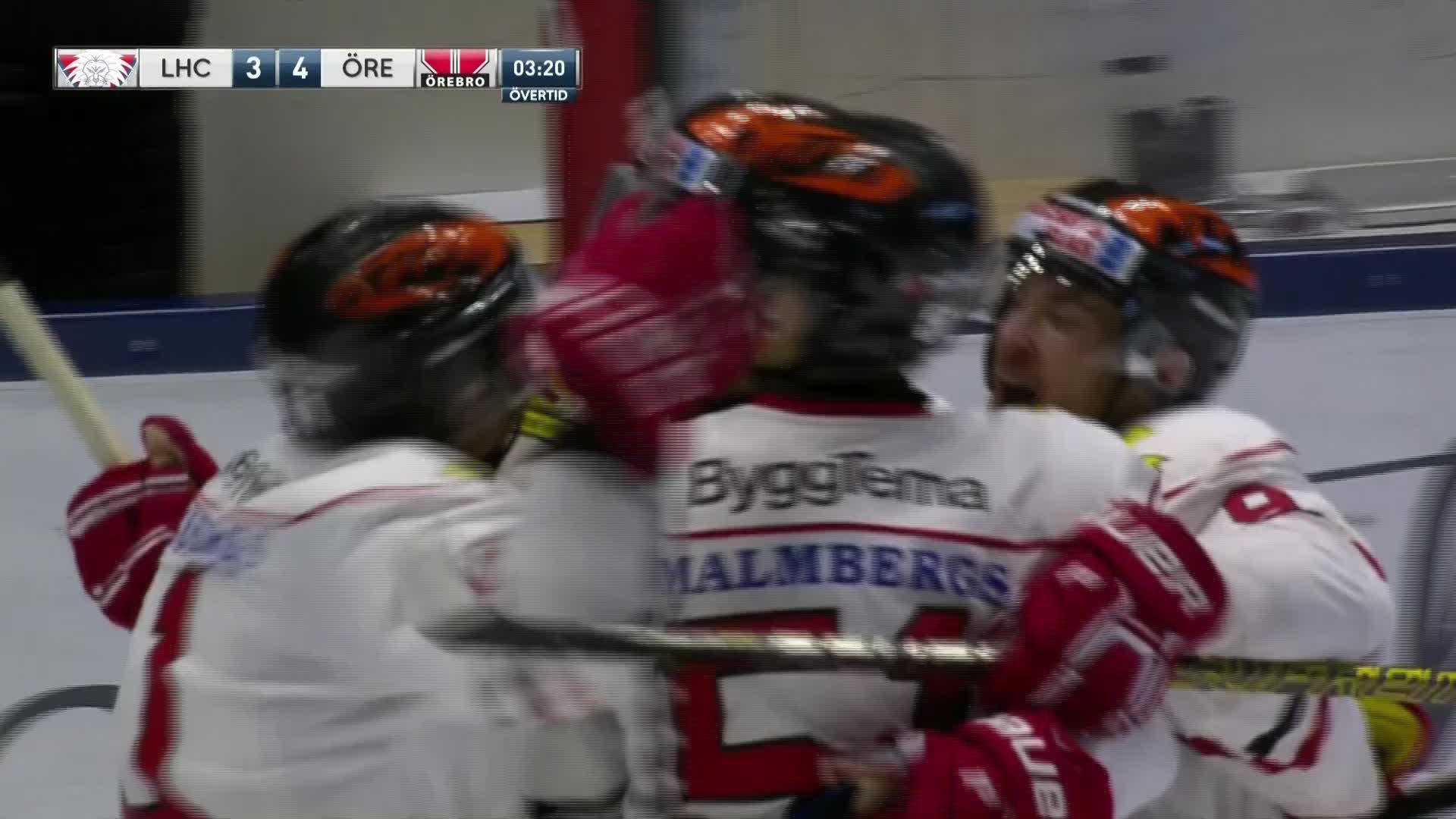 Linköping HC - Örebro Hockey 3-4