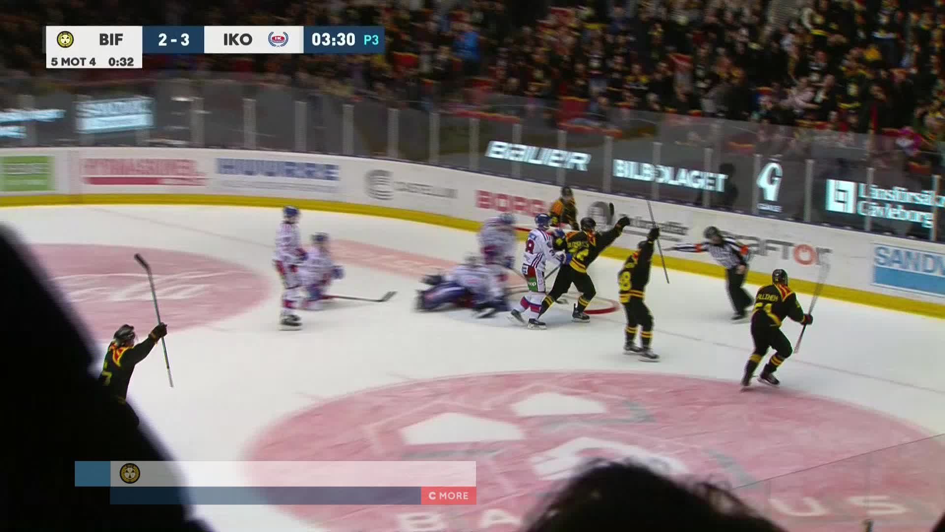 Brynäs IF - IK Oskarshamn 3-3