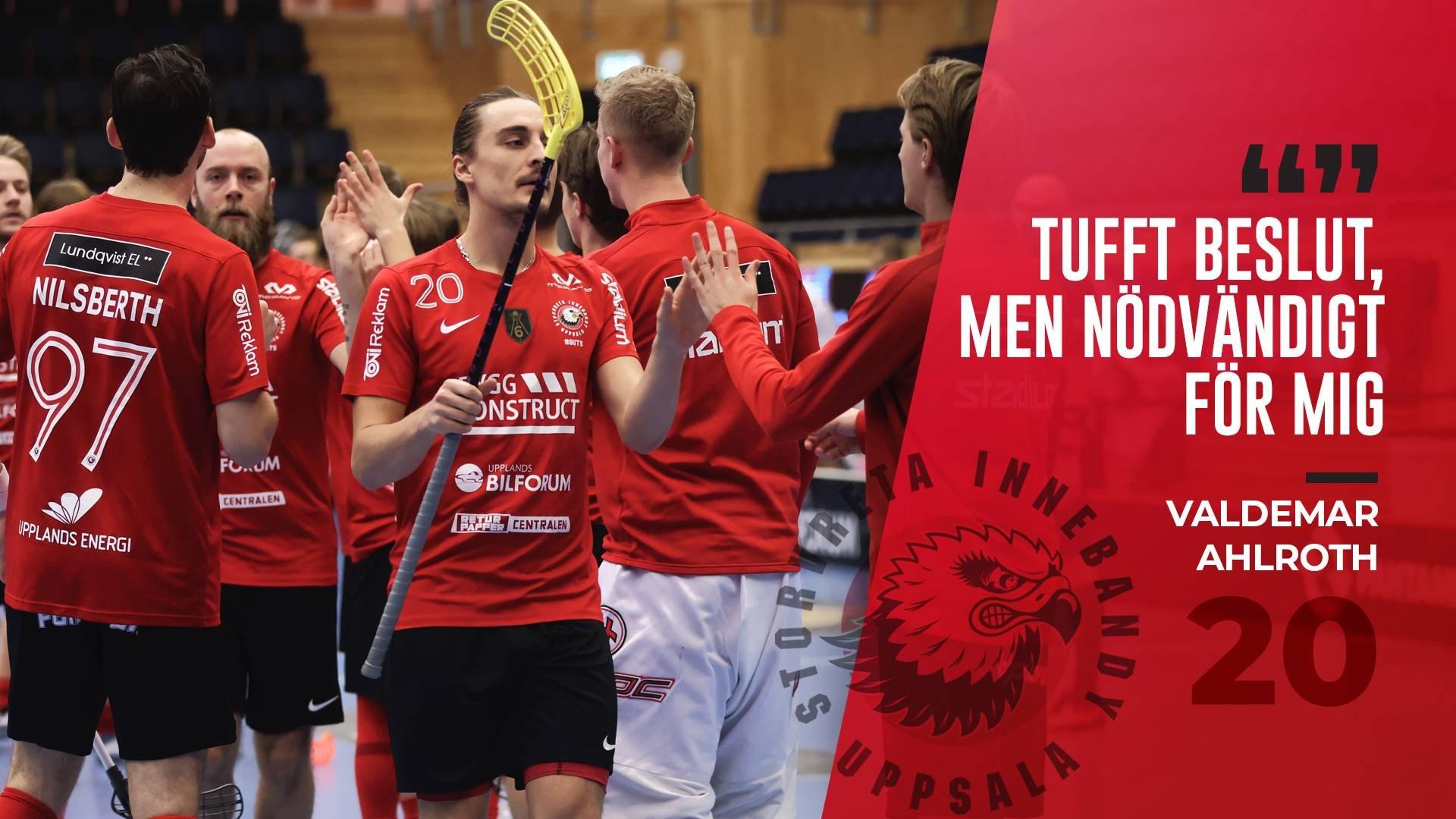 Valdemar Ahlroth fortsätter säsongen med Nykvarn!