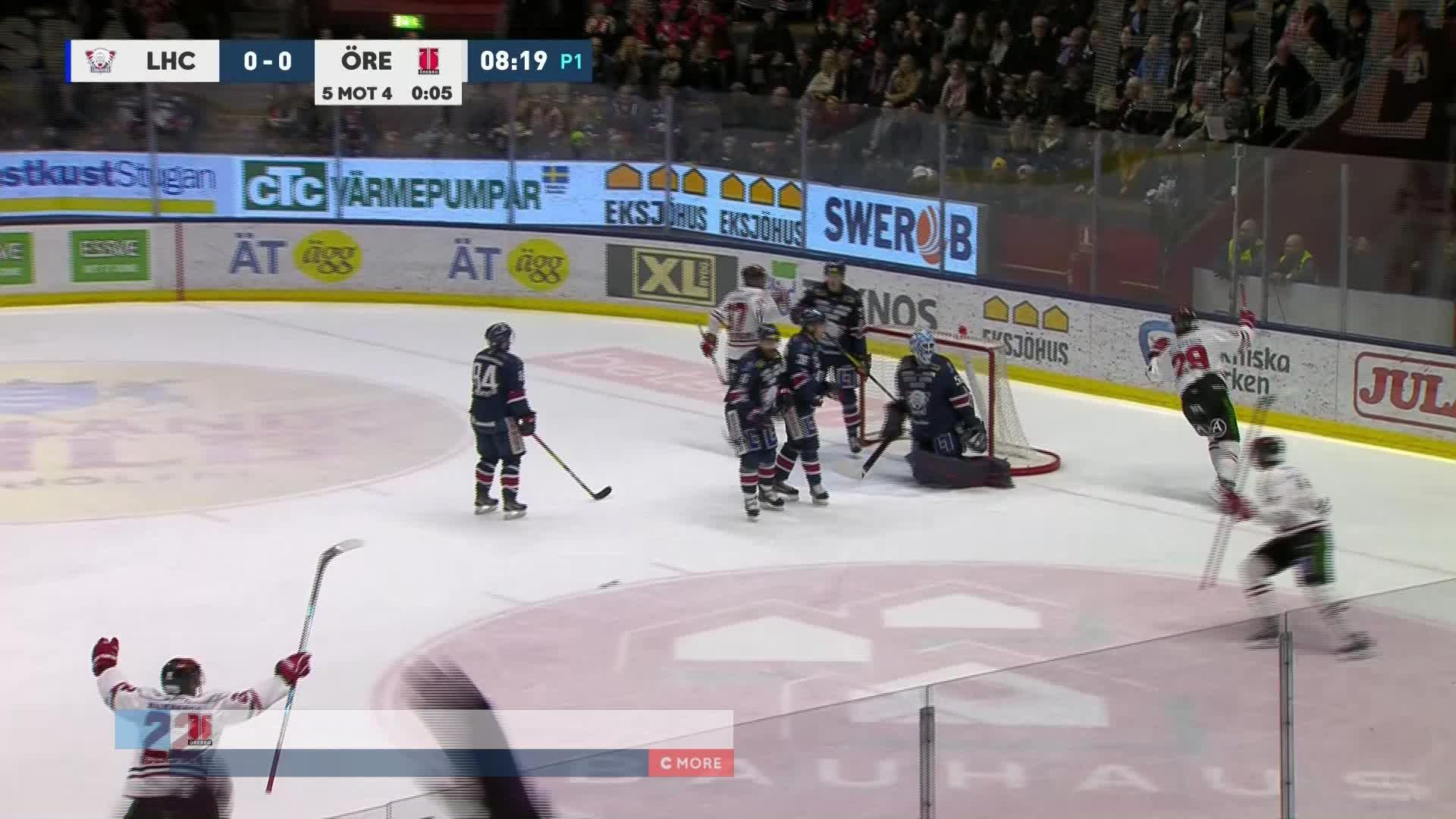 Linköping HC - Örebro Hockey 0-1