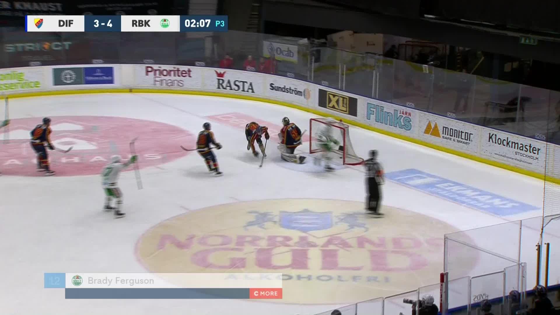Djurgården Hockey - Rögle BK 3-5