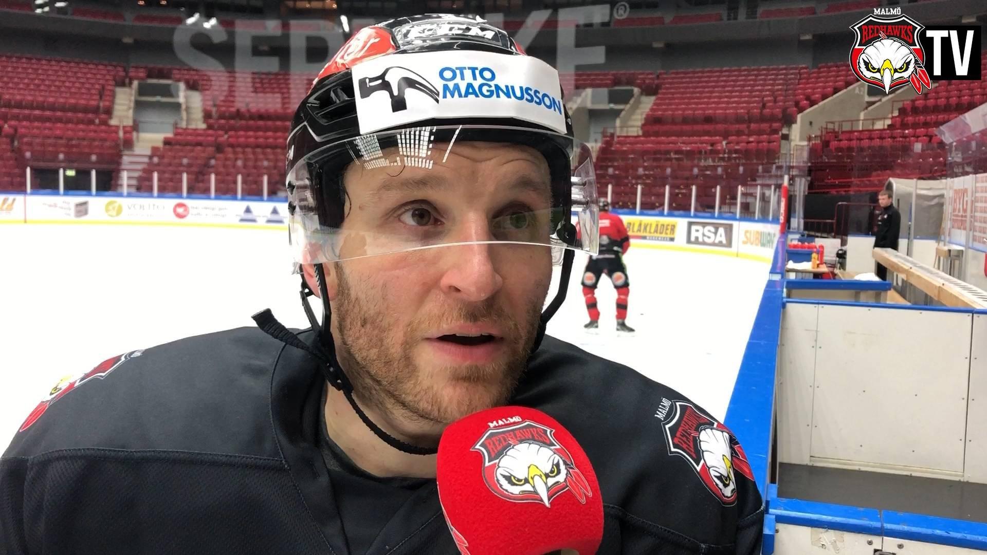 Storm räknar med het match mot Frölunda