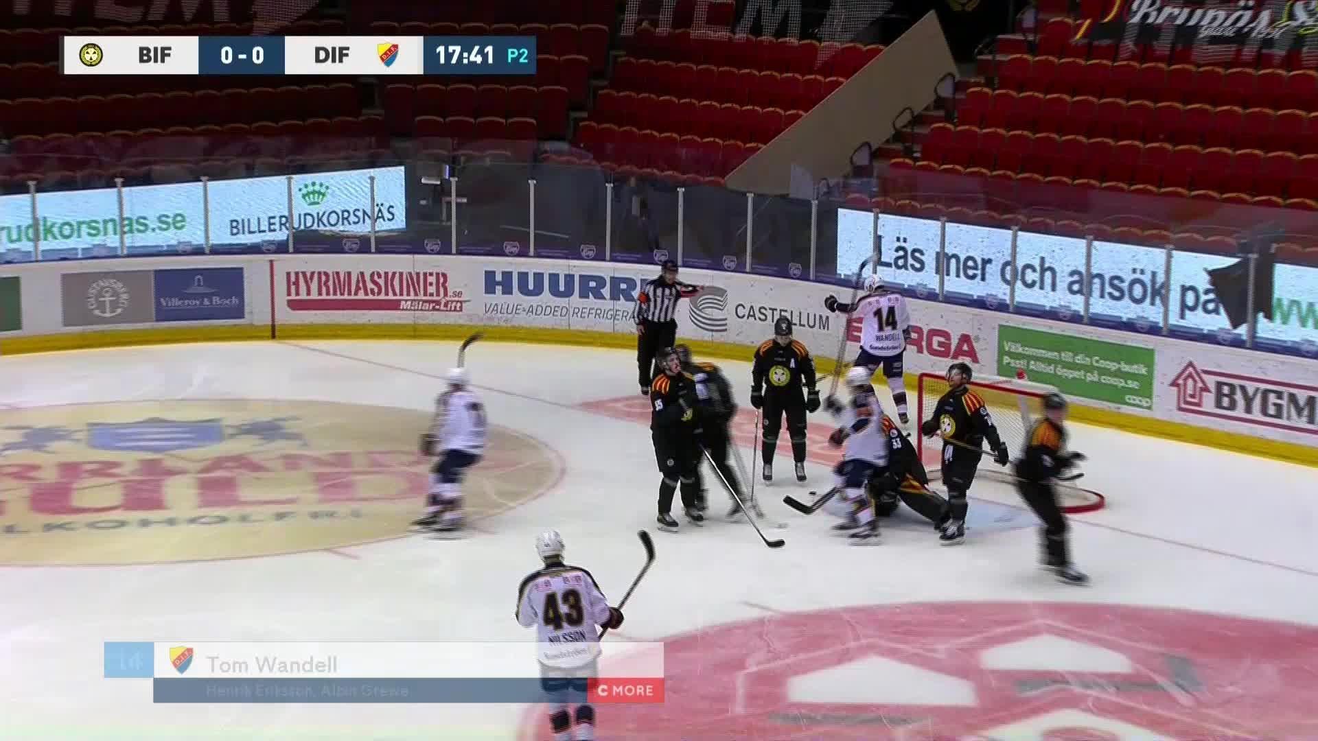 Brynäs IF - Djurgården Hockey 0-1