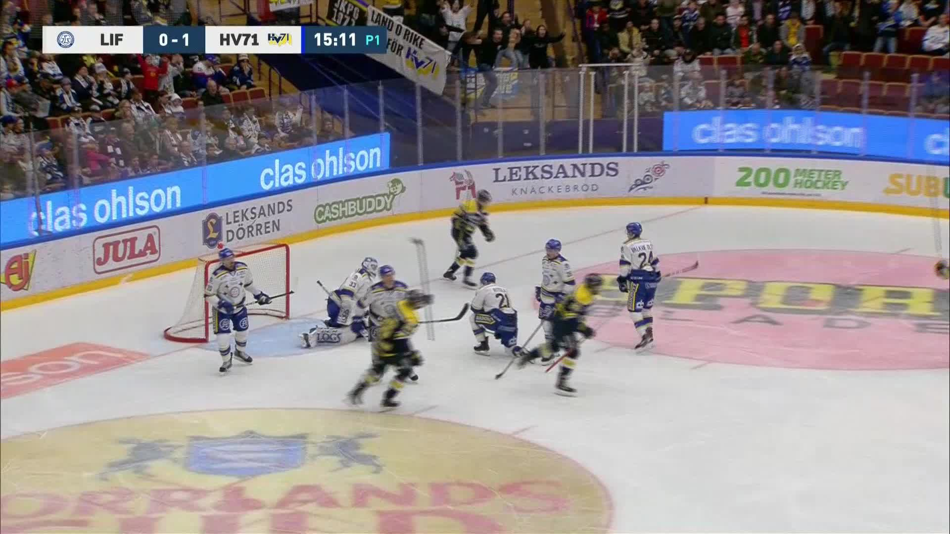 Leksands IF - HV71 0-2