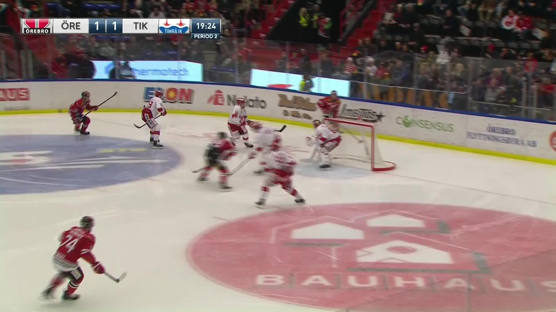 Örebro Hockey - Timrå IK 2-1