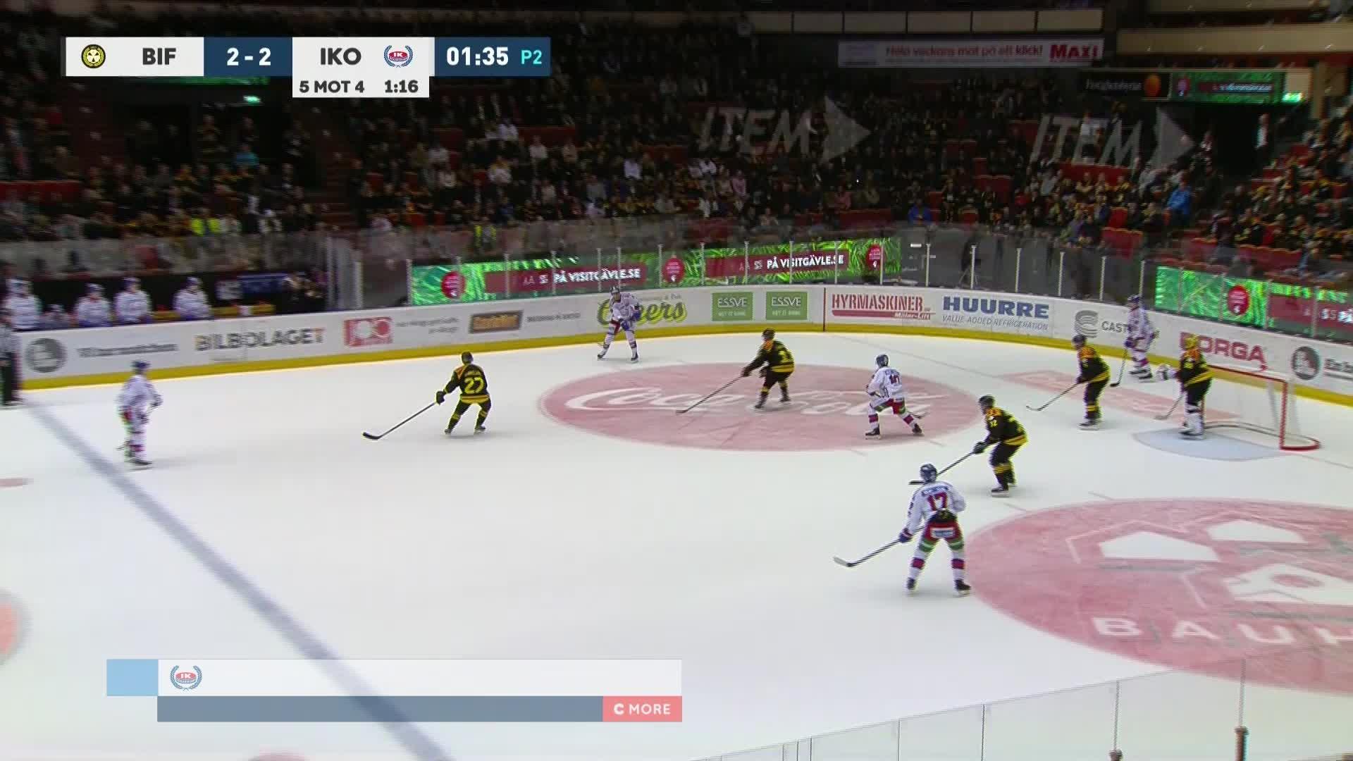 Brynäs IF - IK Oskarshamn 2-3