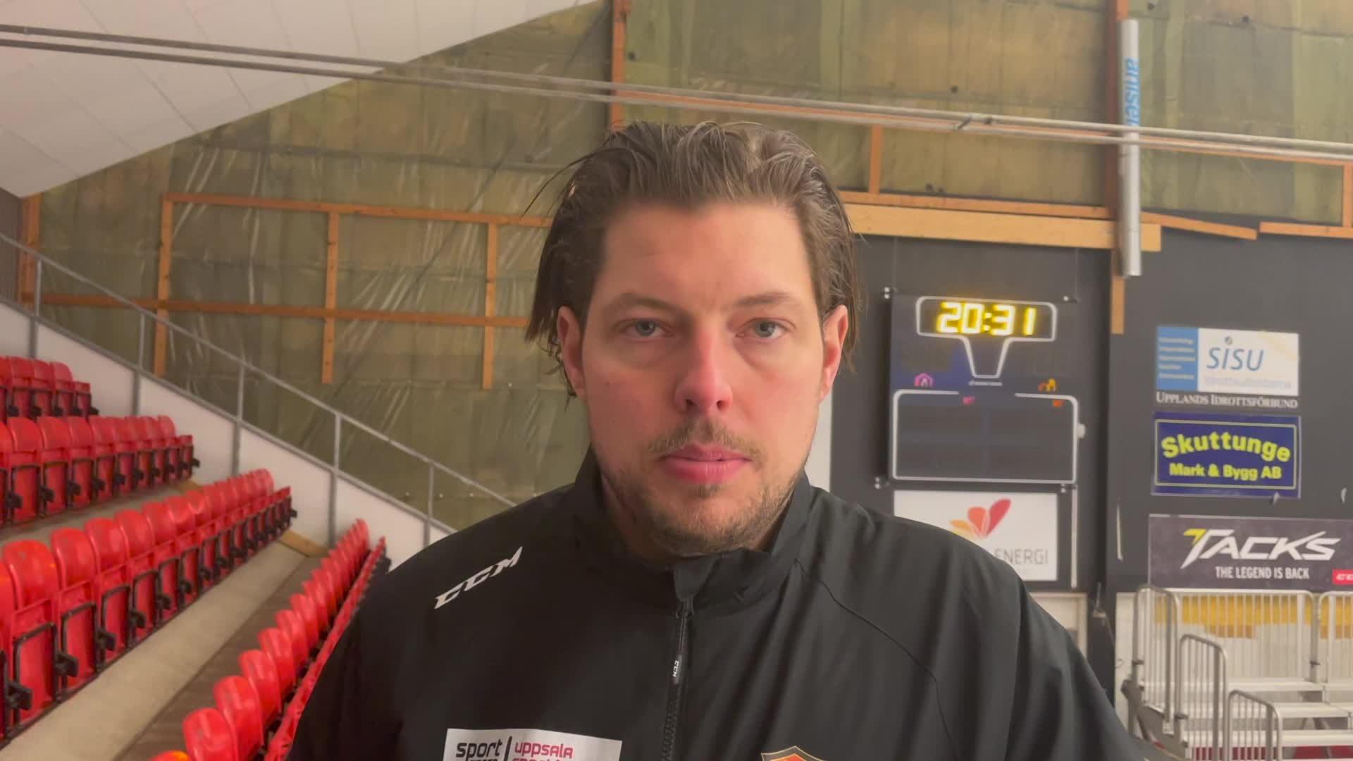 Zackrisson och Höglund efter matchen