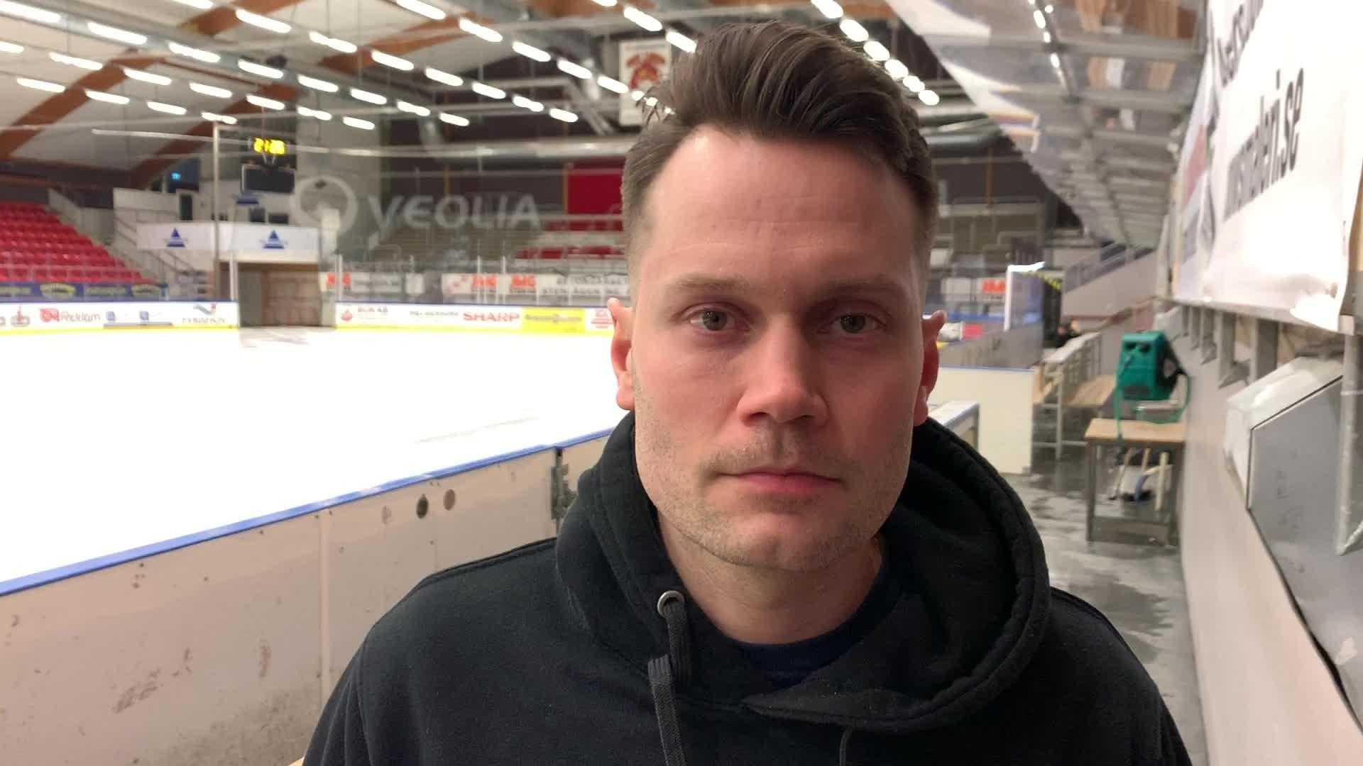 Martin Gudmundsson efter Timrå