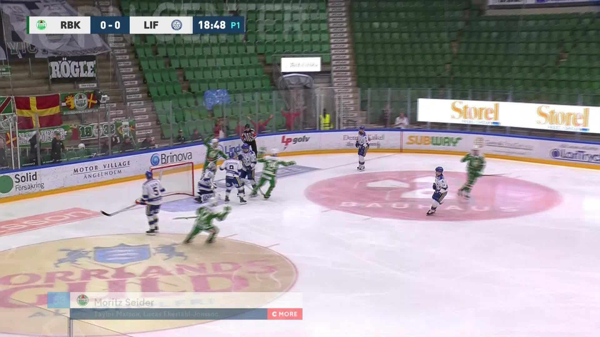 Rögle BK - Leksands IF 1-0