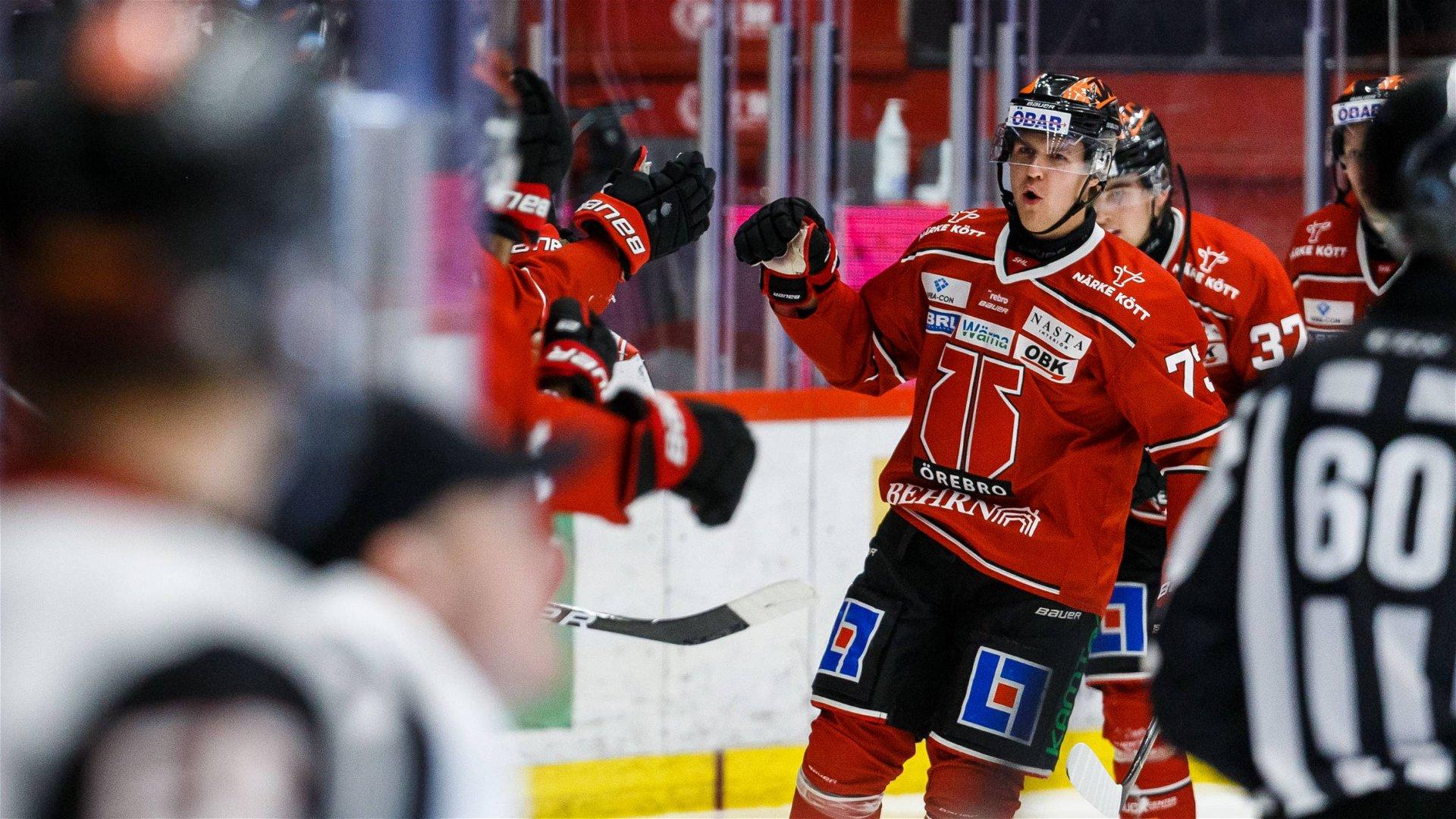 Örebro Hockey - Malmö Redhawks