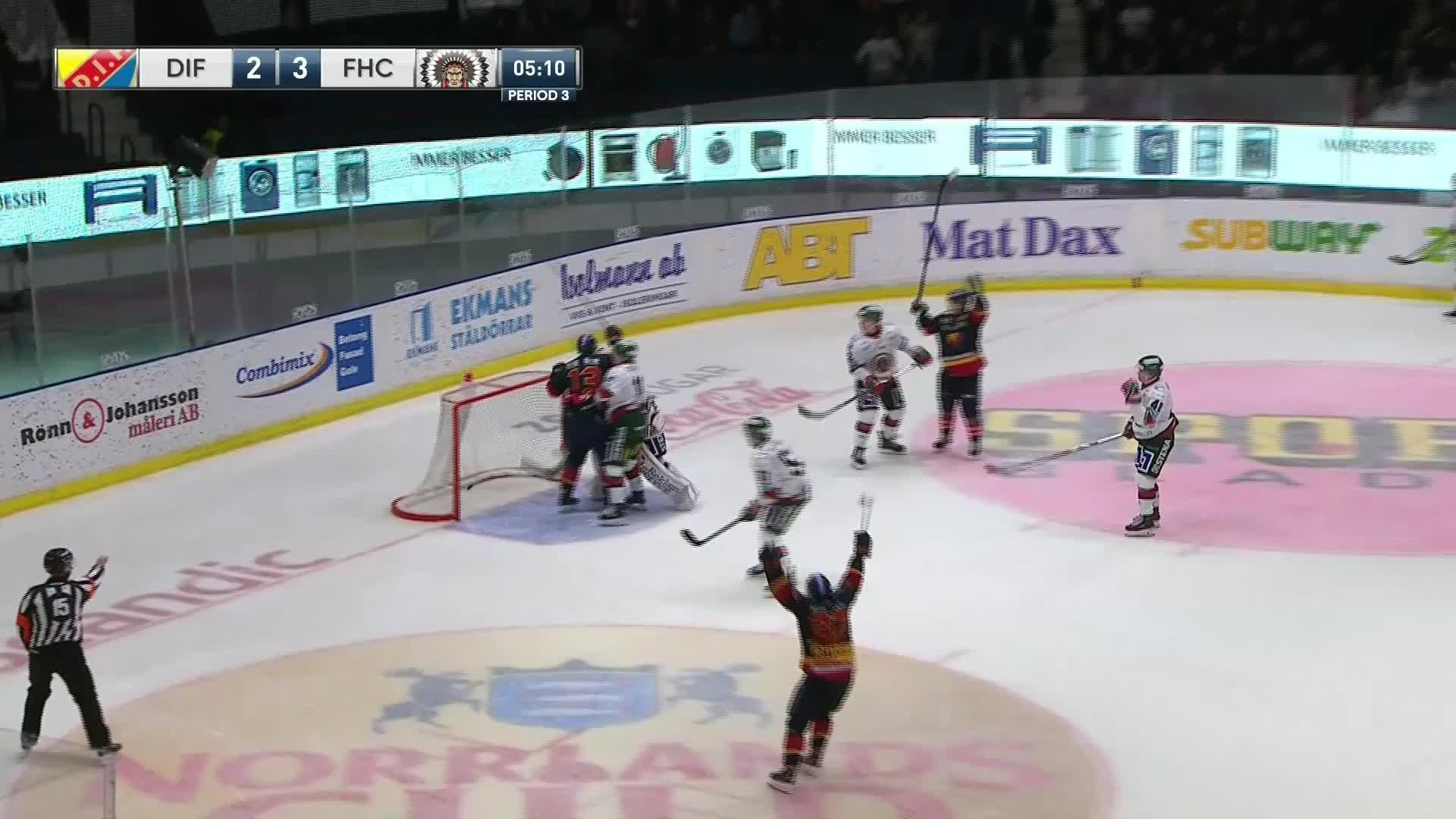 Djurgården Hockey - Frölunda HC 3-3