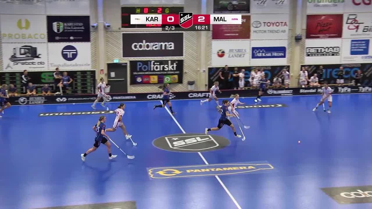 Highlights från matchen mot Malmö FBC