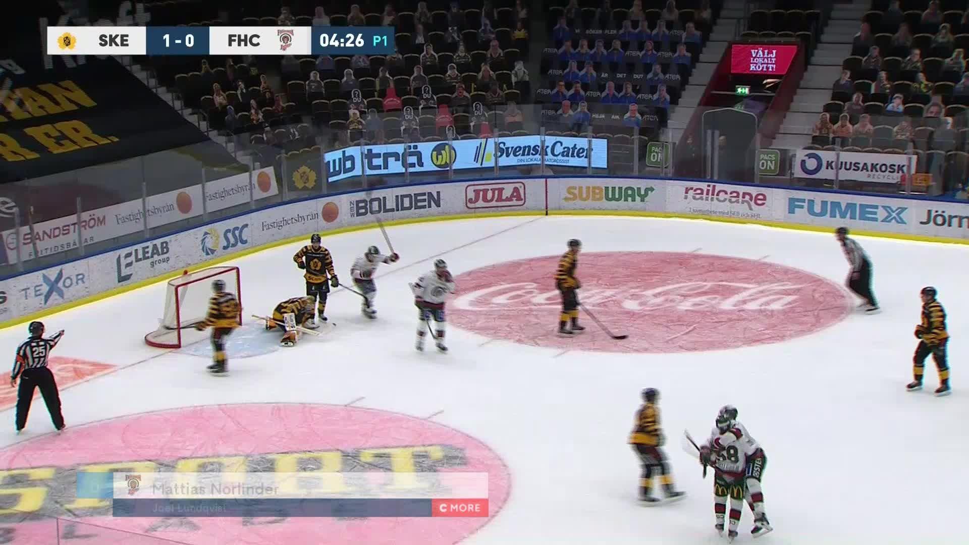 Skellefteå AIK - Frölunda HC 1-1