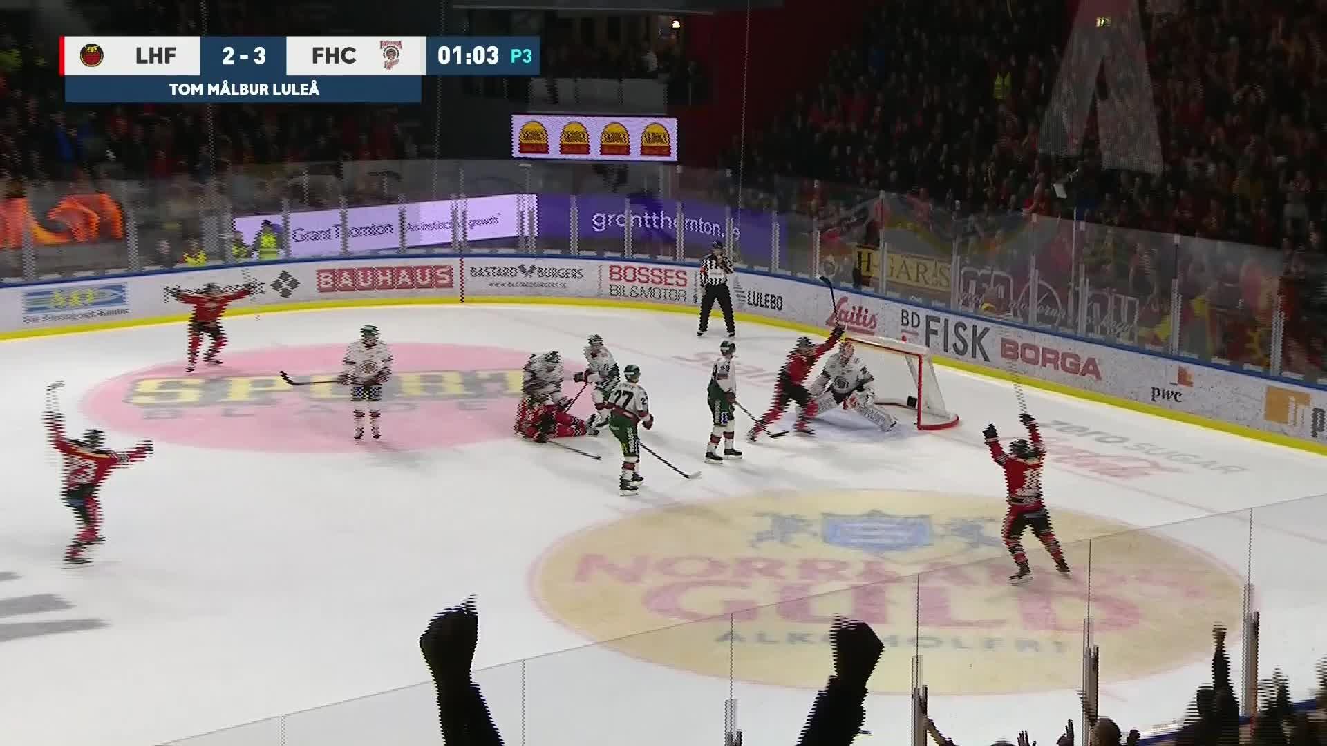 Luleå Hockey - Frölunda HC 3-3