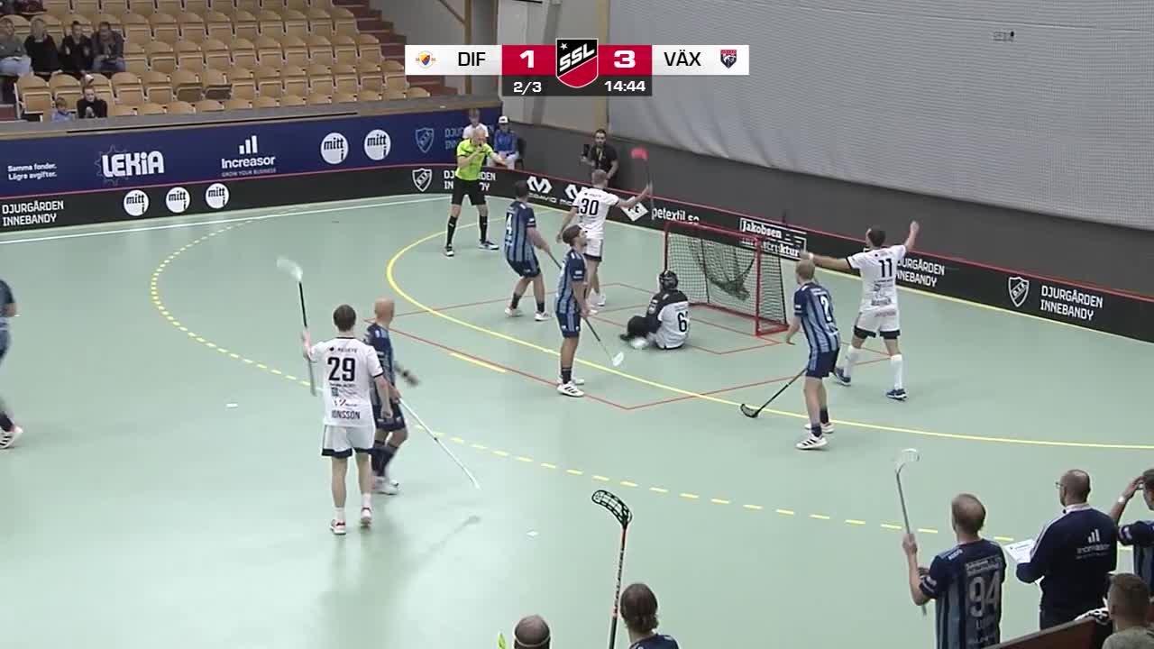 Highlights: Djurgårdens IF IBS-Växjö Vipers