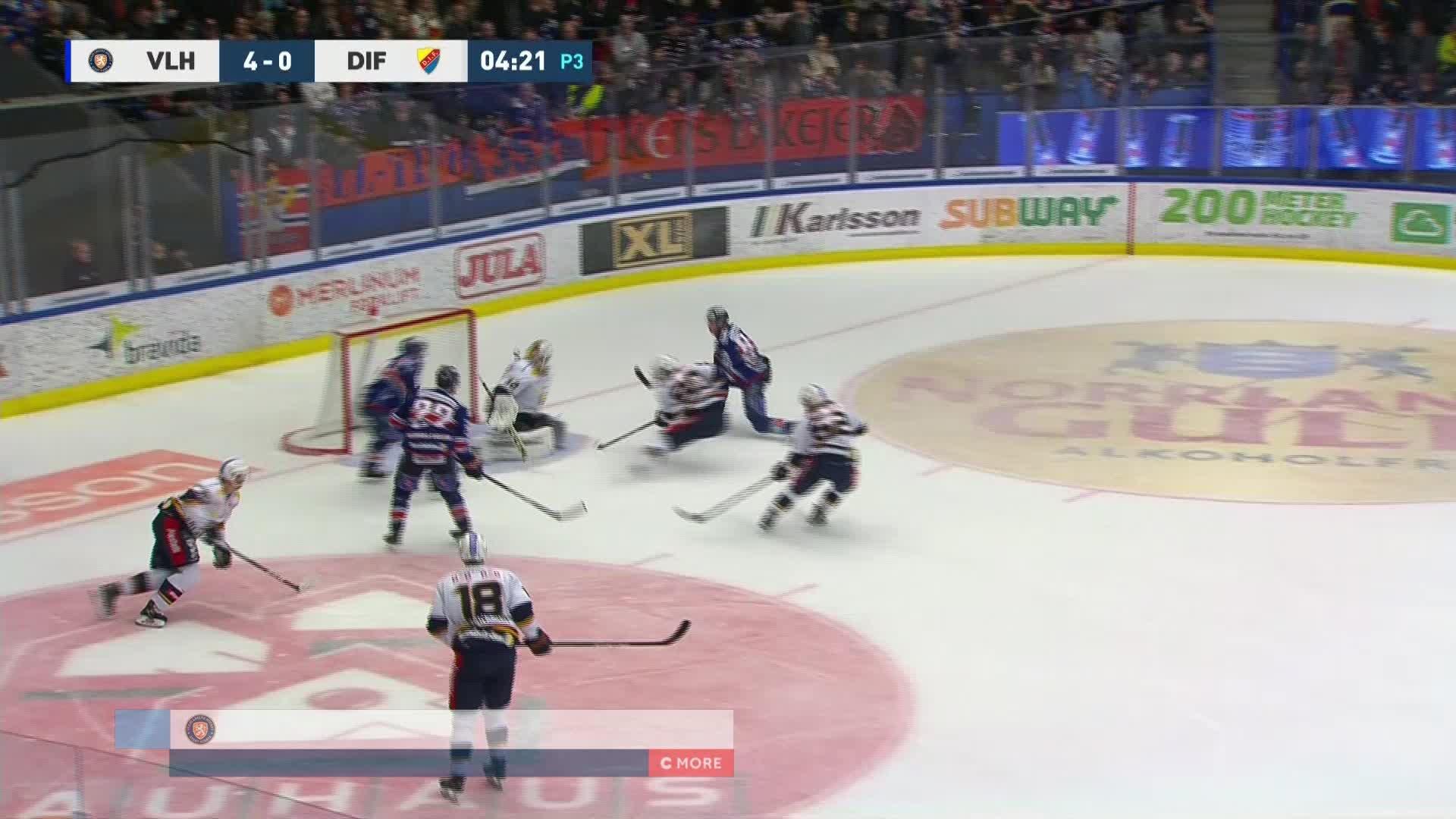 Växjö Lakers - Djurgården Hockey 5-0